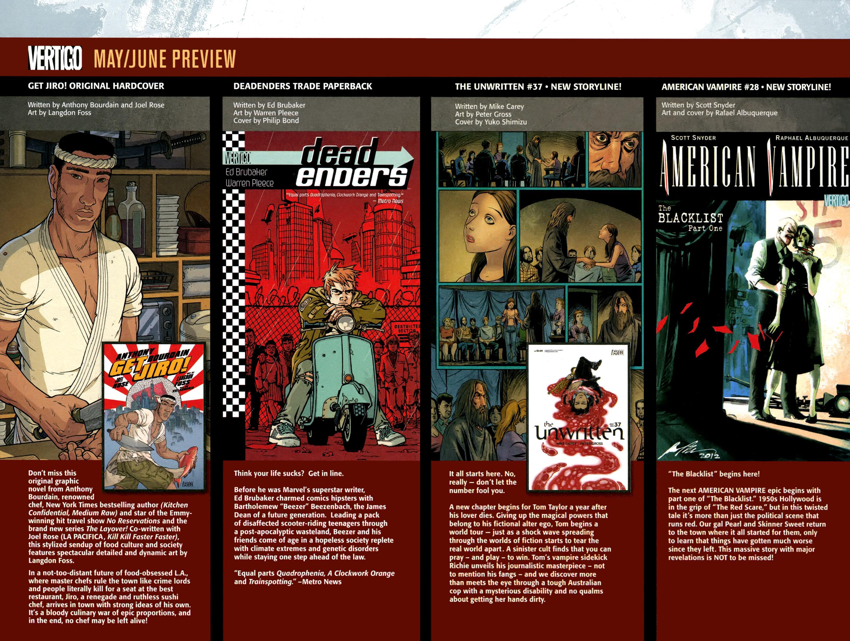 Read online American Vampire: Lord of Nightmares comic -  Issue #1 - 31