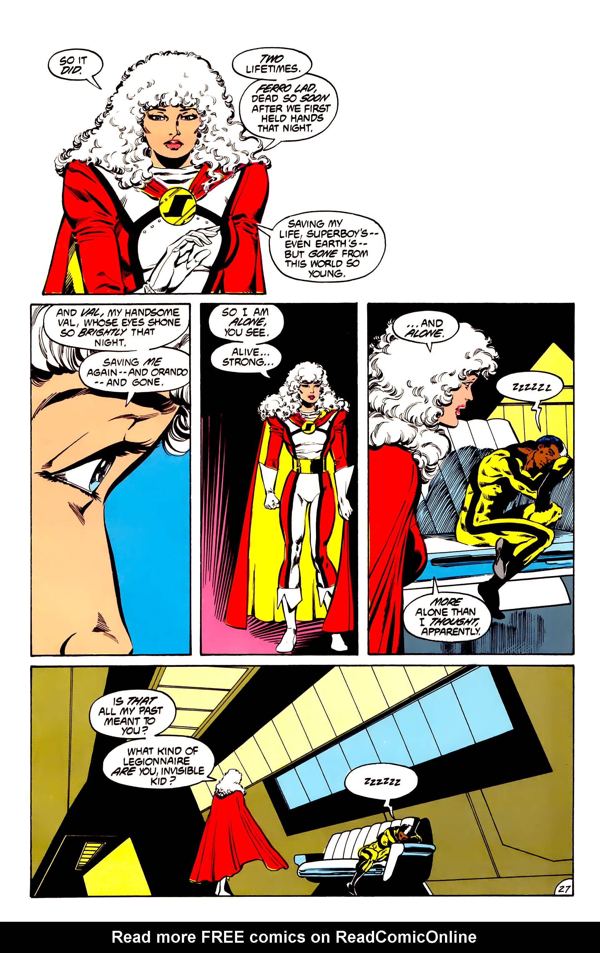 Legion of Super-Heroes (1984) 31 Page 27