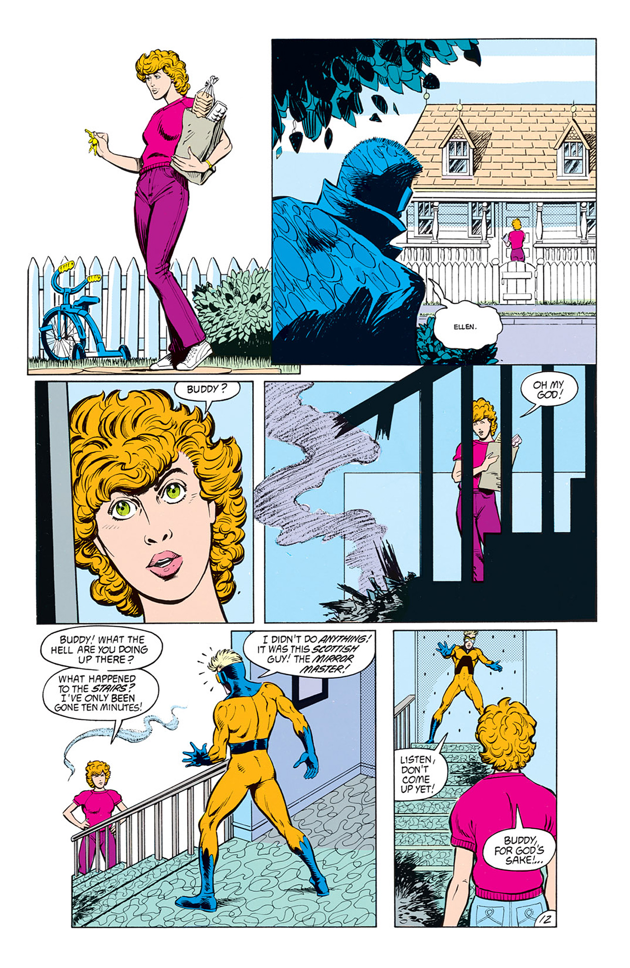 Read online Animal Man (1988) comic -  Issue #8 - 14