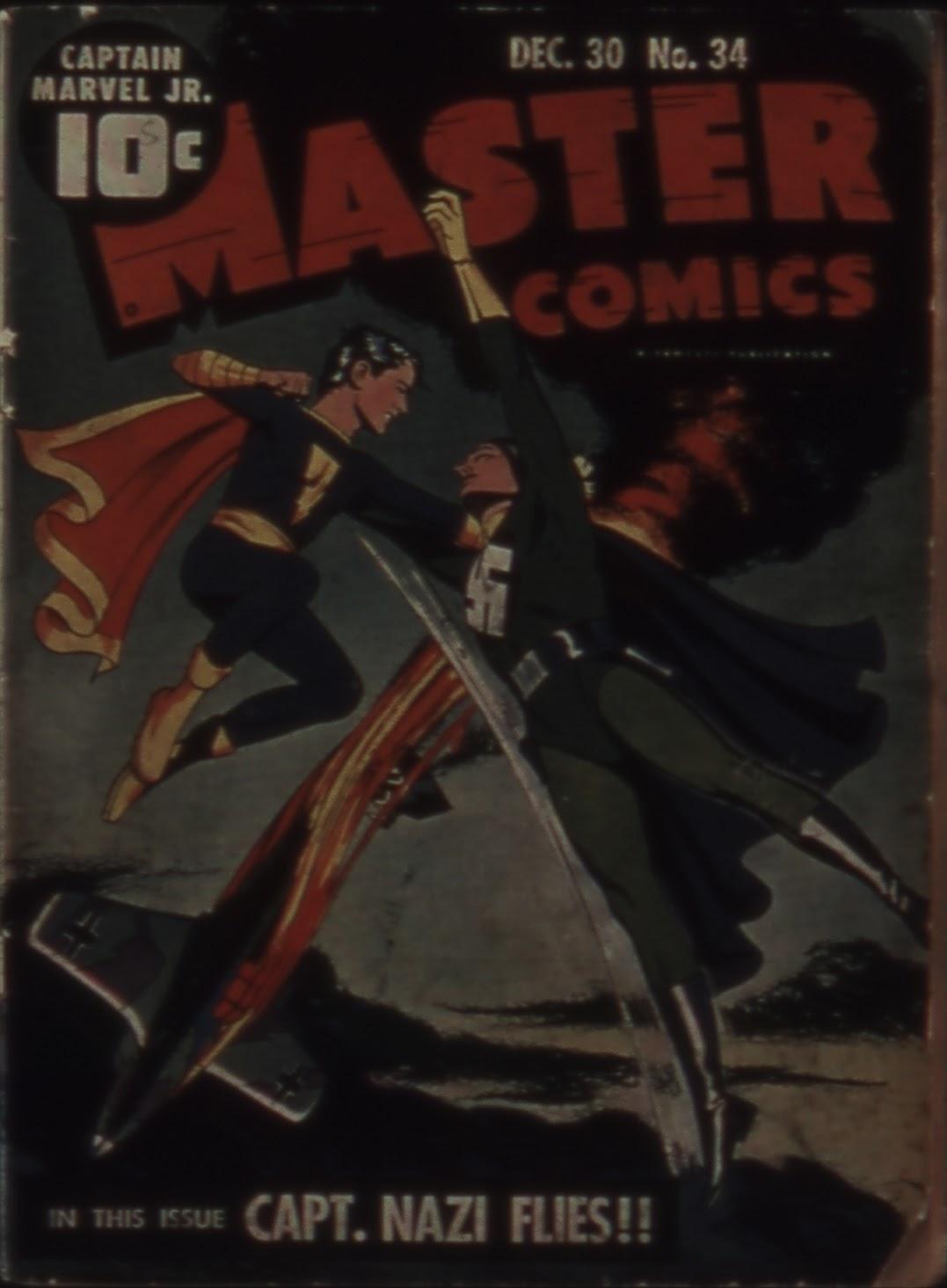 Master Comics 34 Page 1