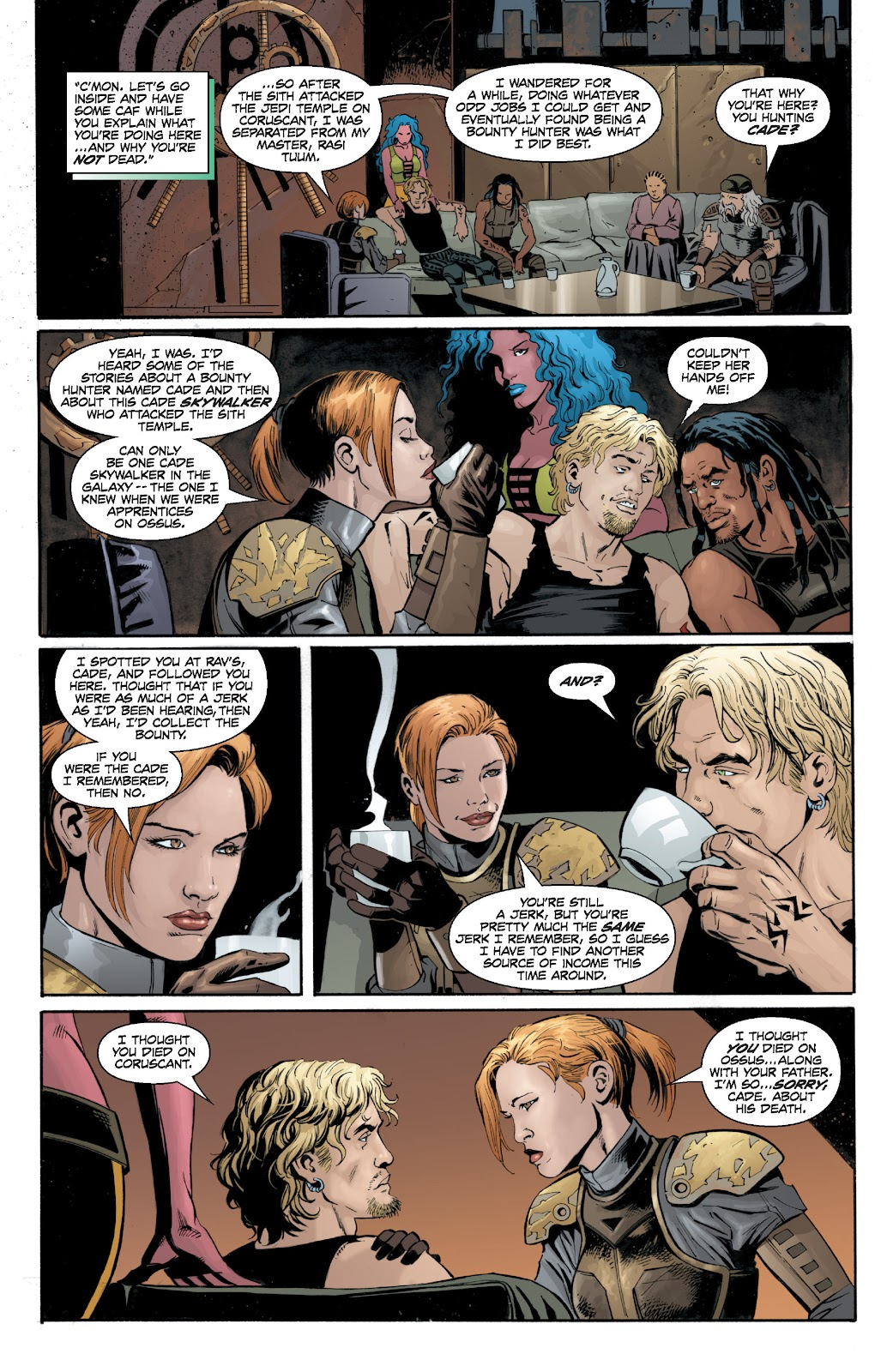 Read online Star Wars Legends: Legacy - Epic Collection comic -  Issue # TPB 2 (Part 2) - 41