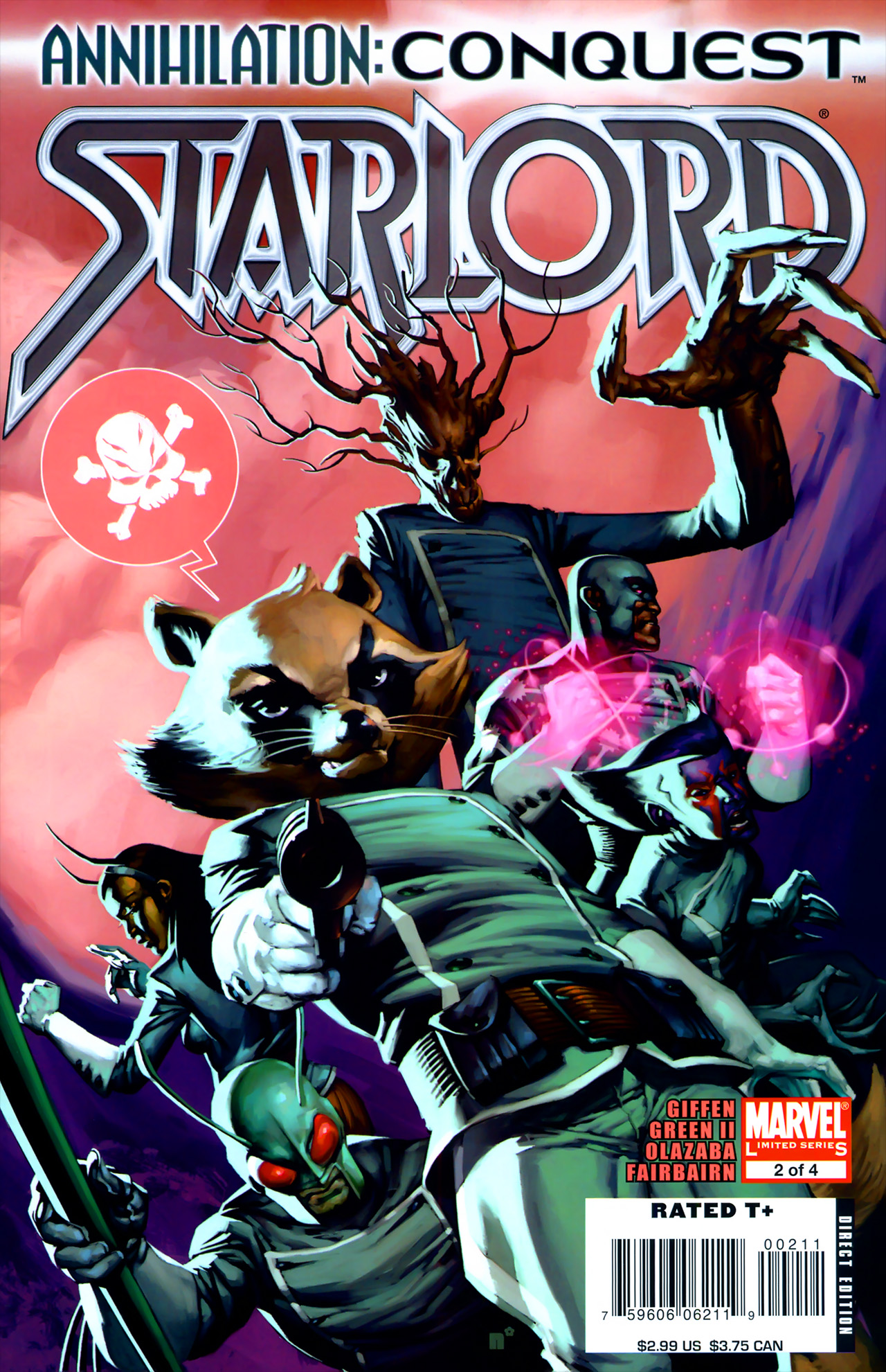 Read online Annihilation: Conquest - Starlord comic -  Issue #2 - 1