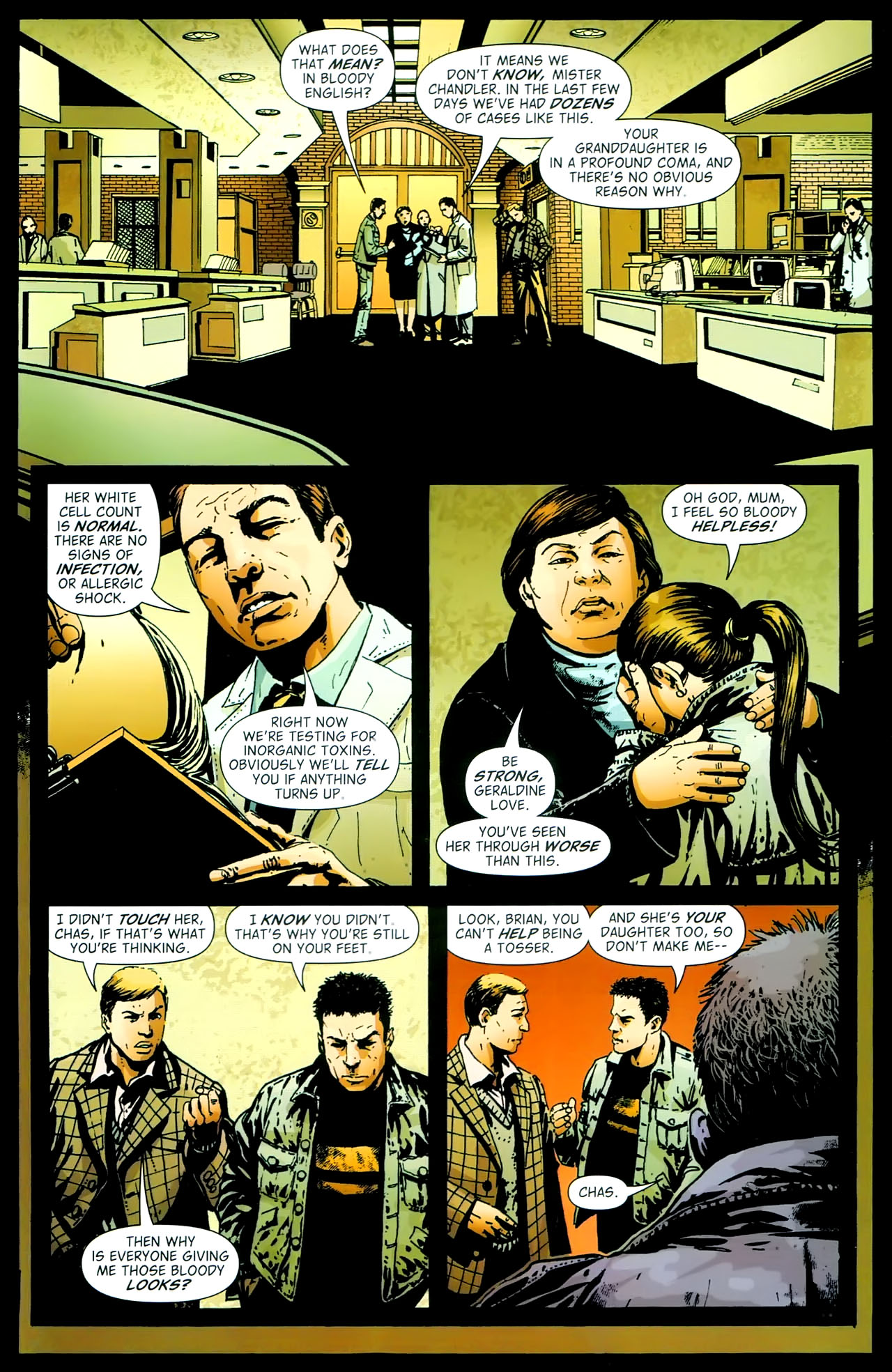 Read online John Constantine Hellblazer: All His Engines comic -  Issue # Full - 17