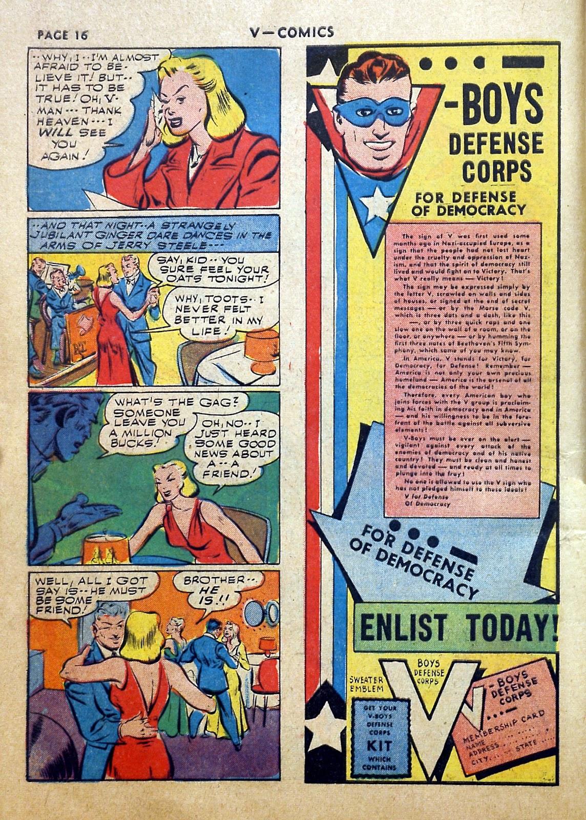 Read online V...- Comics comic -  Issue #2 - 17