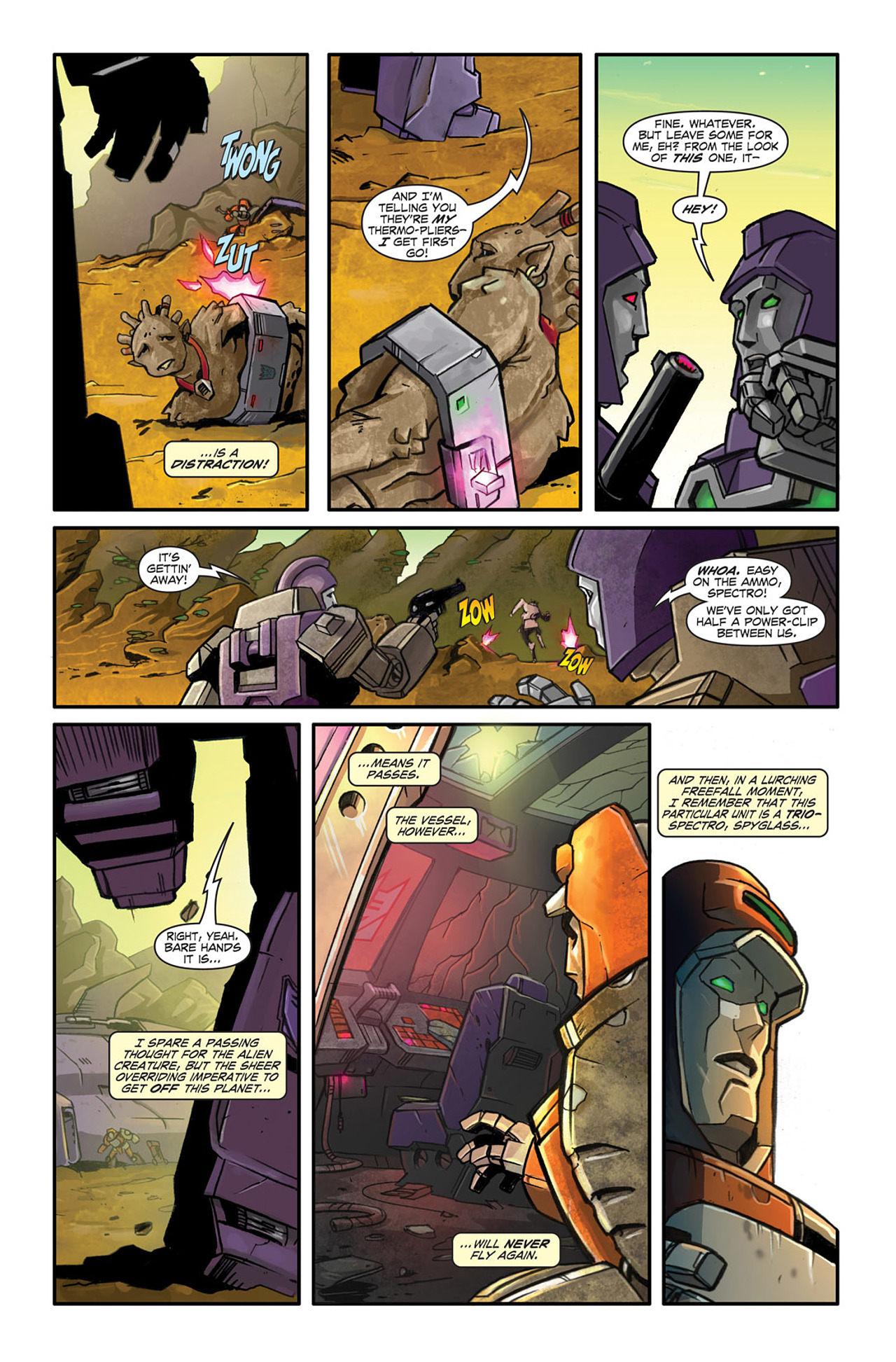 Read online Transformers Spotlight: Wheelie comic -  Issue # Full - 17