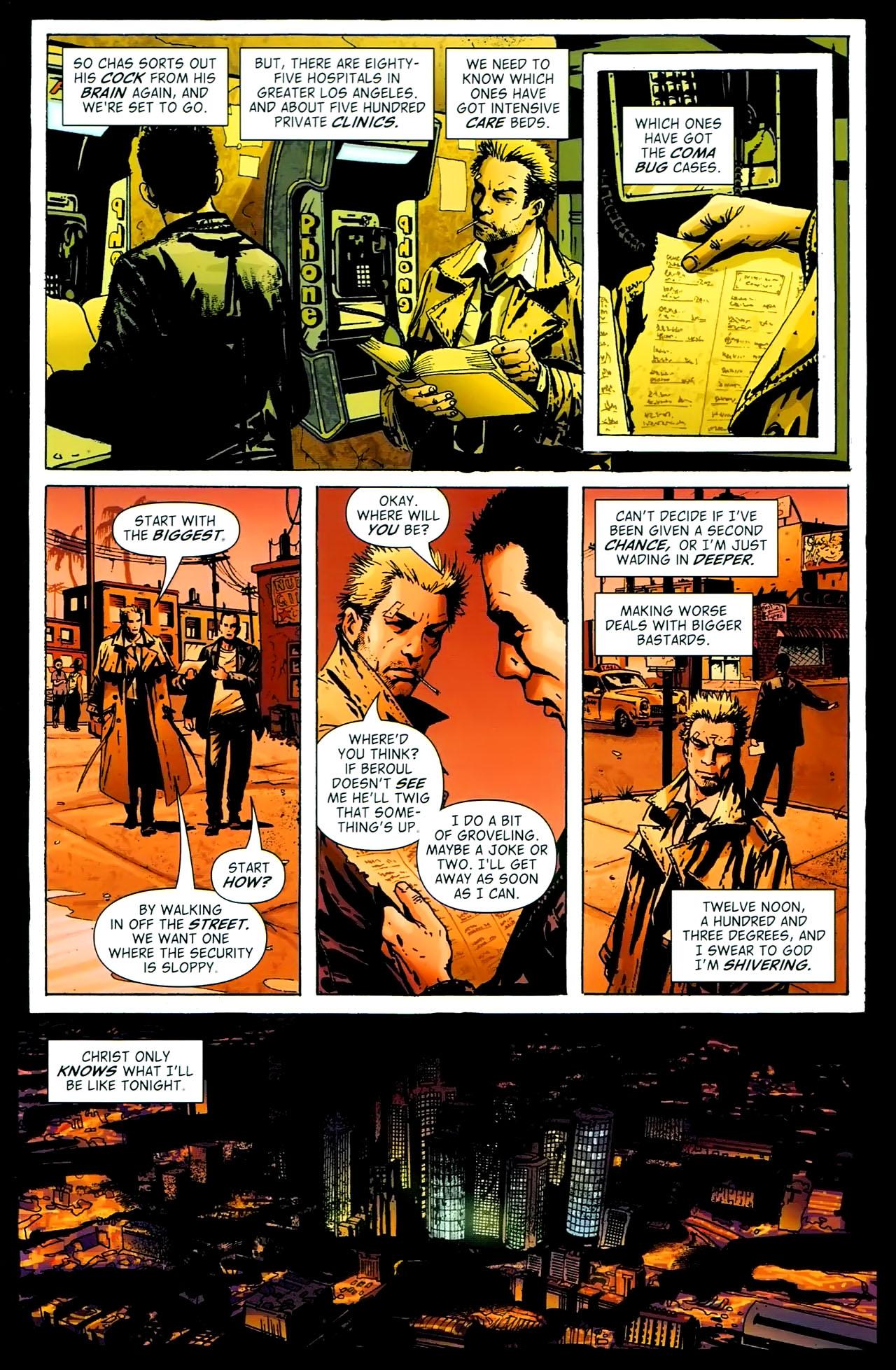 Read online John Constantine Hellblazer: All His Engines comic -  Issue # Full - 97