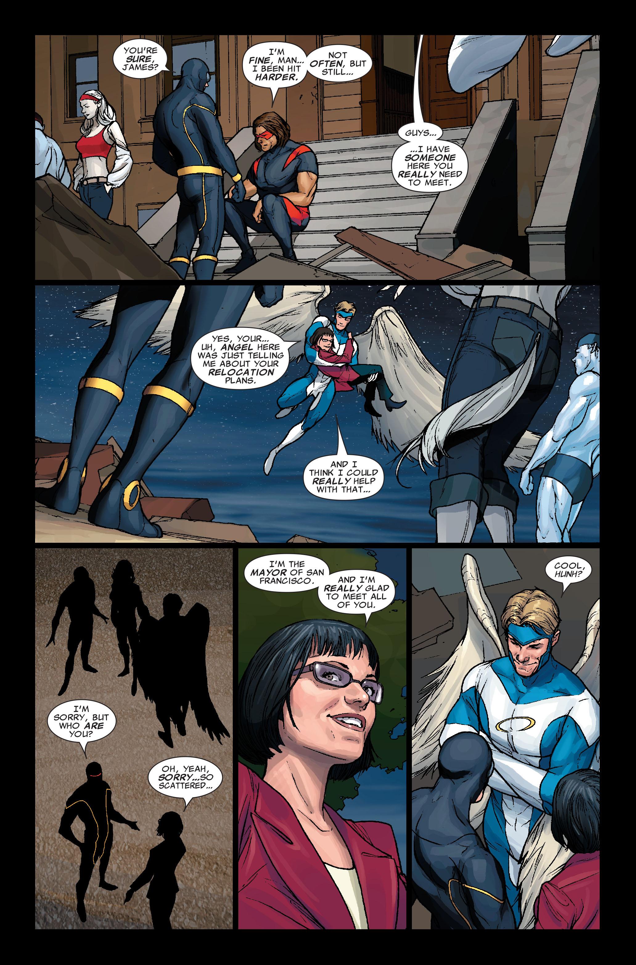 Read online Uncanny X-Men (1963) comic -  Issue #499 - 21
