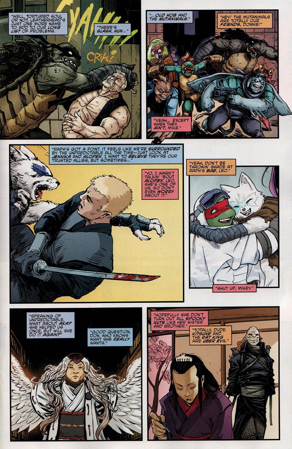 Read online Free Comic Book Day 2017 comic -  Issue # Teenage Mutant Ninja Turtles - 9