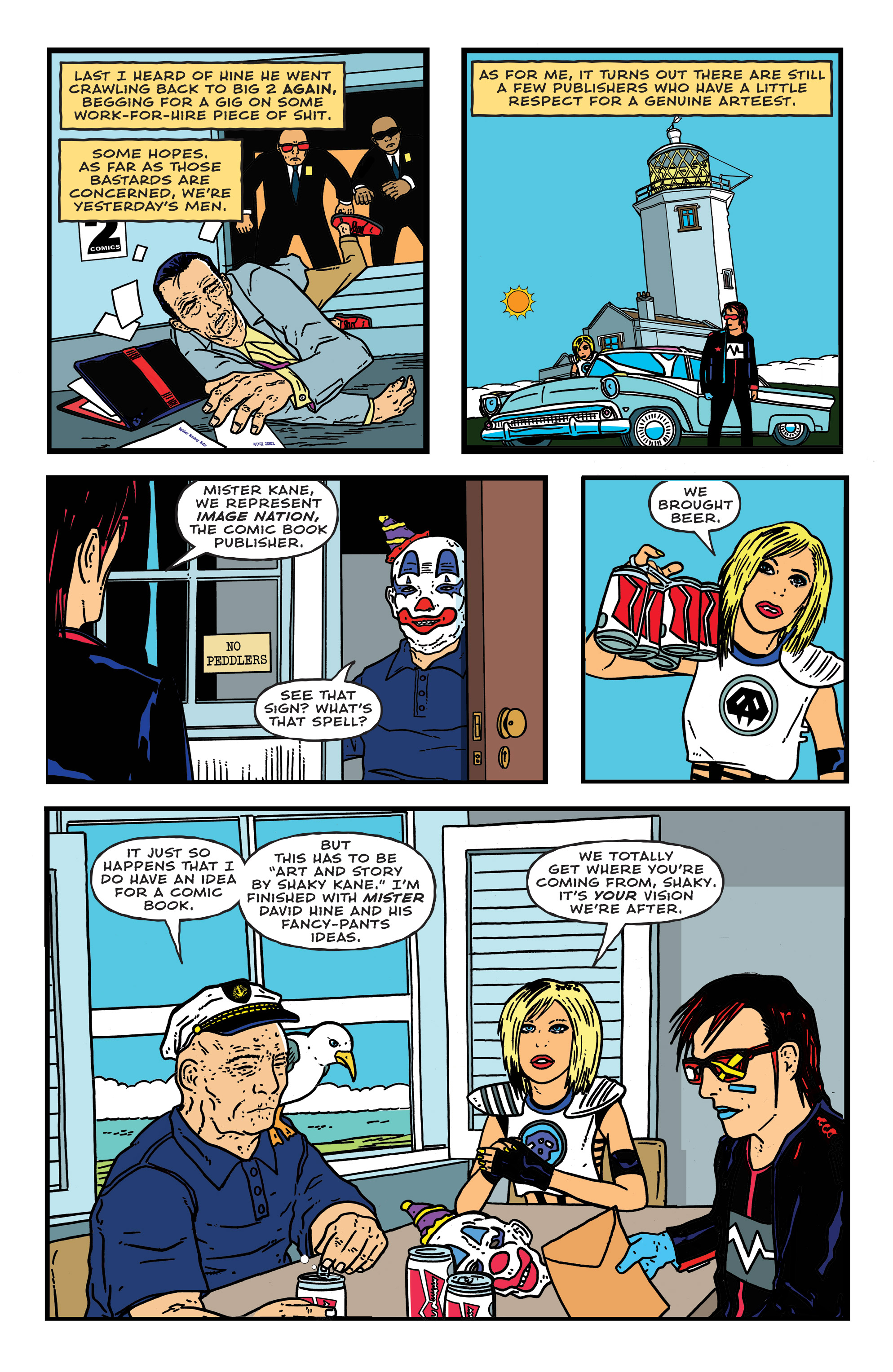 Read online Bulletproof Coffin: The Thousand Yard Stare comic -  Issue # Full - 7