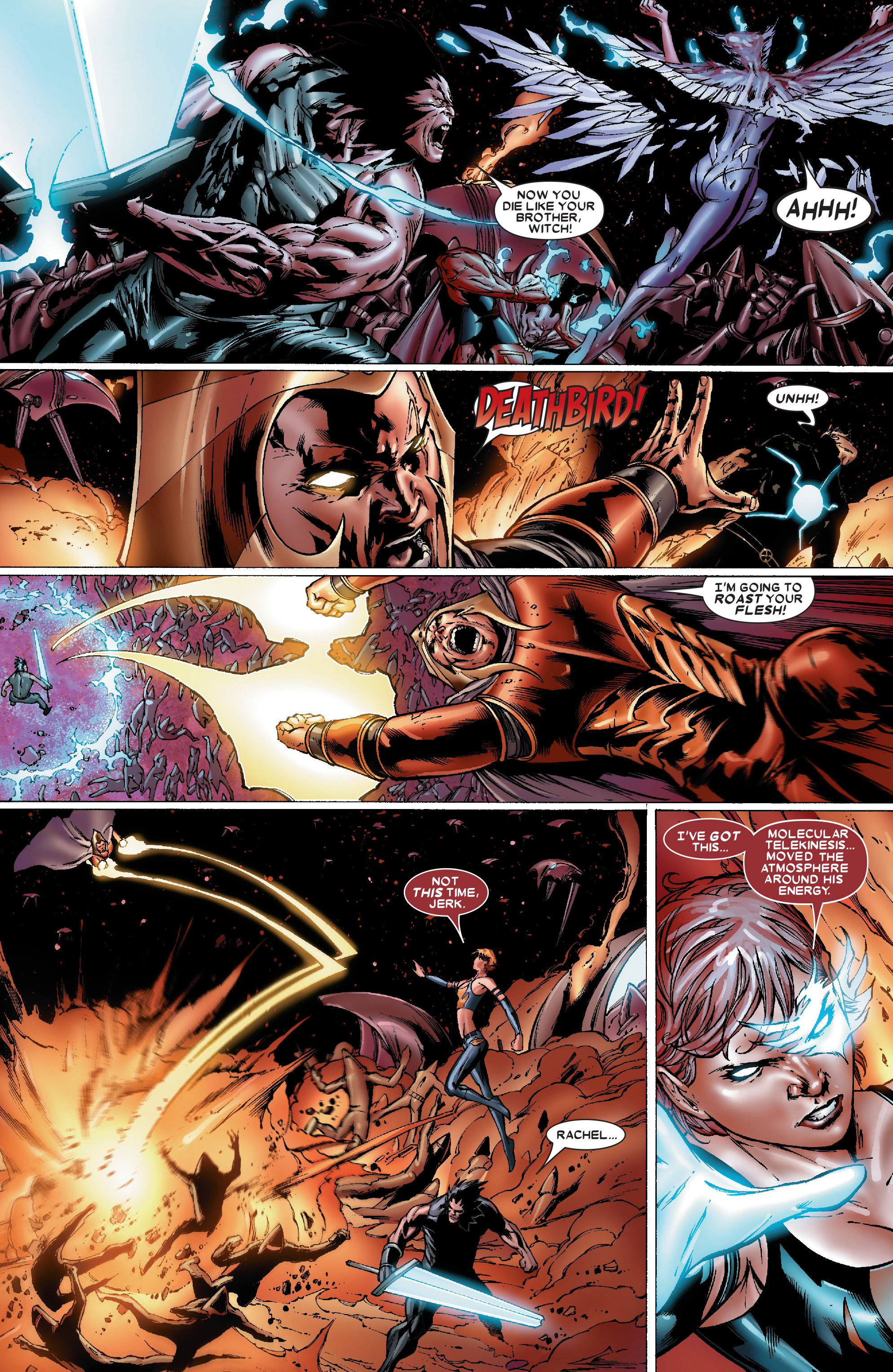 Read online Uncanny X-Men (1963) comic -  Issue #486 - 10