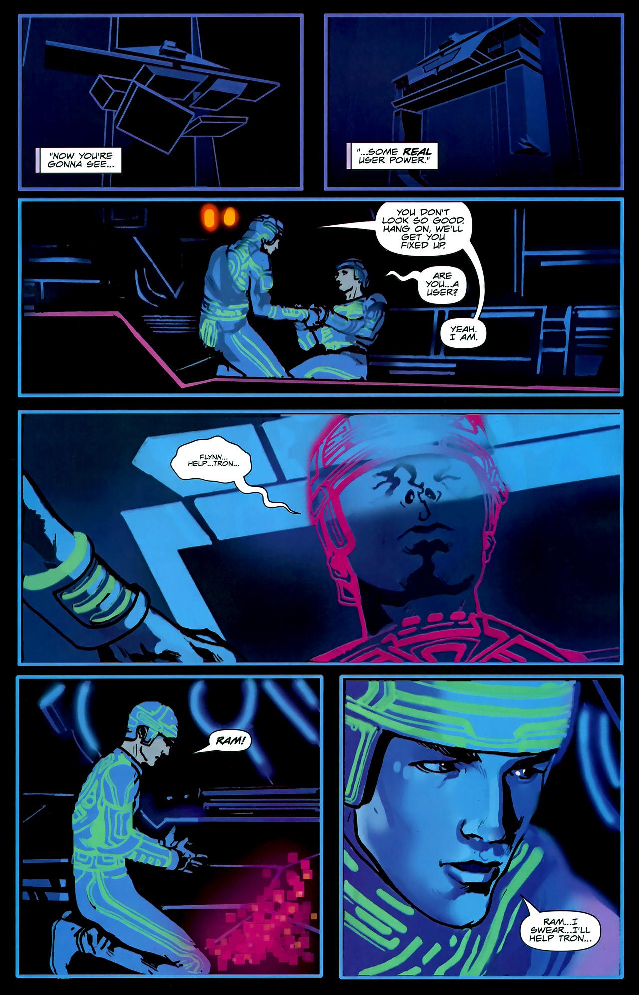 Read online TRON: Original Movie Adaptation comic -  Issue #2 - 14