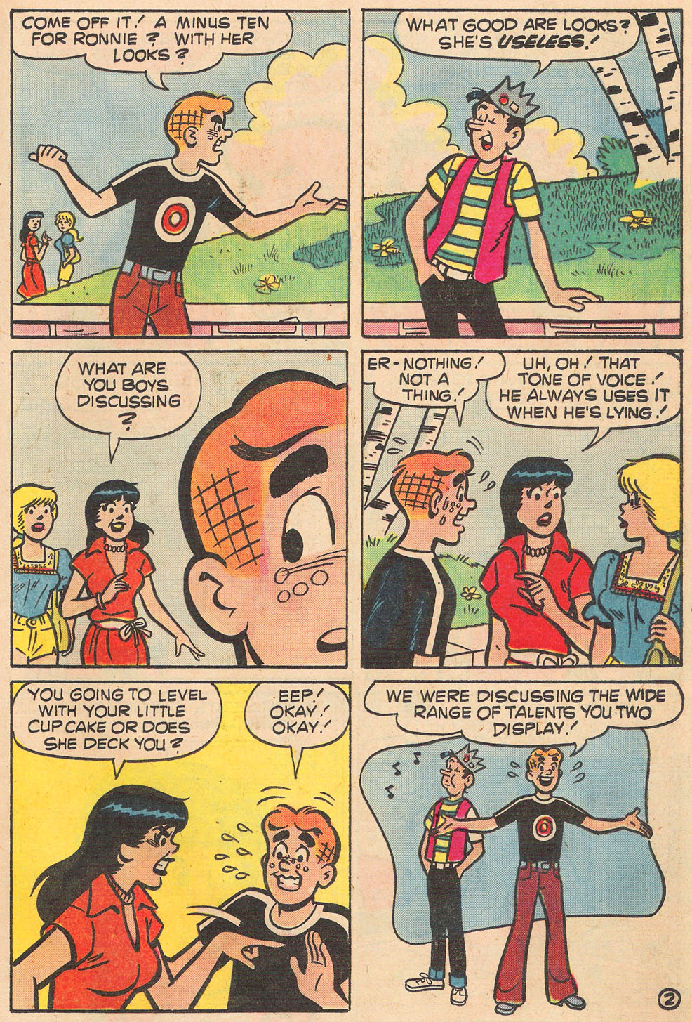 Read online Archie's Girls Betty and Veronica comic -  Issue #264 - 21