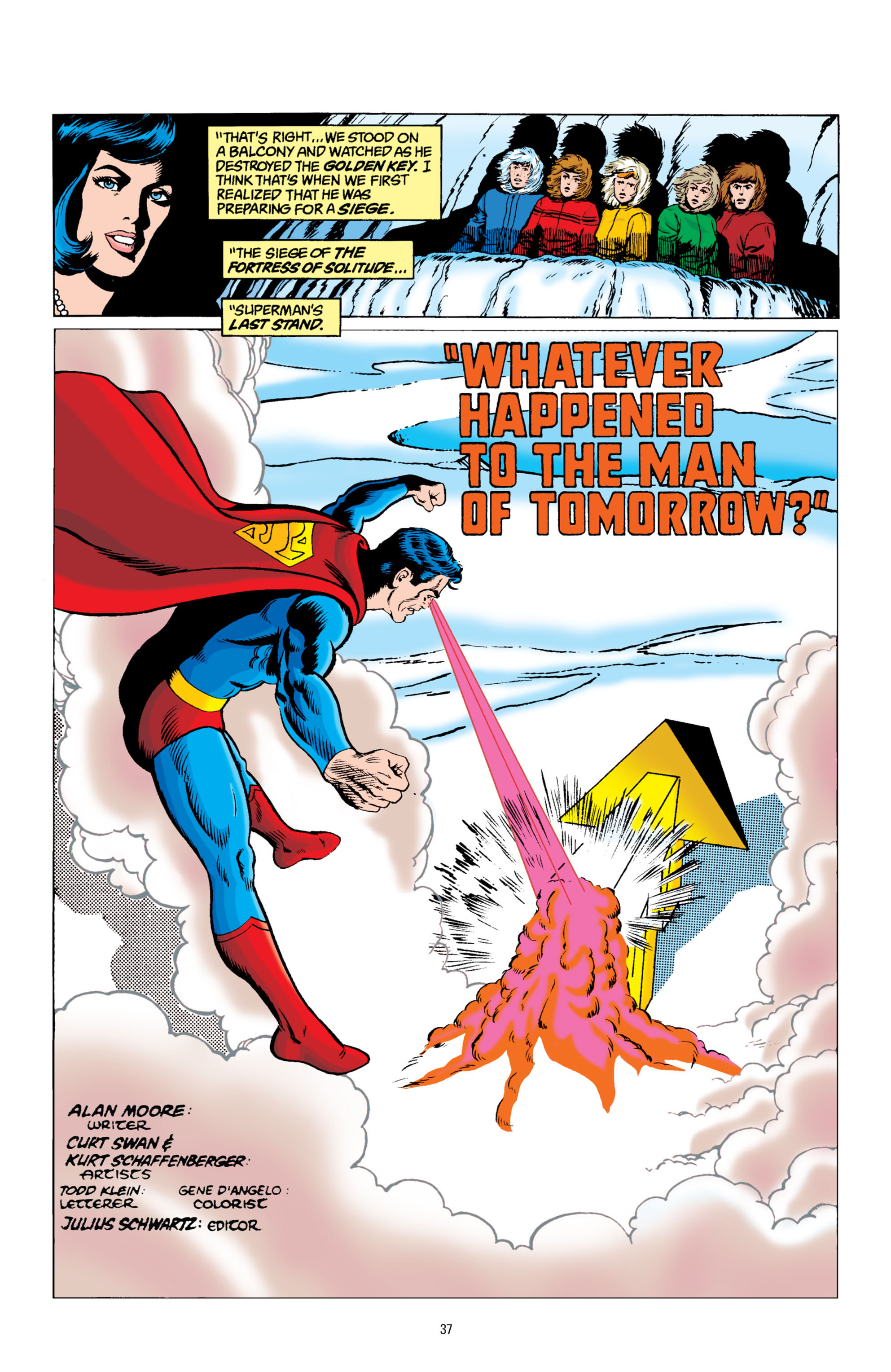 Read online Superman: Whatever Happened to the Man of Tomorrow? comic -  Issue # TPB - 36