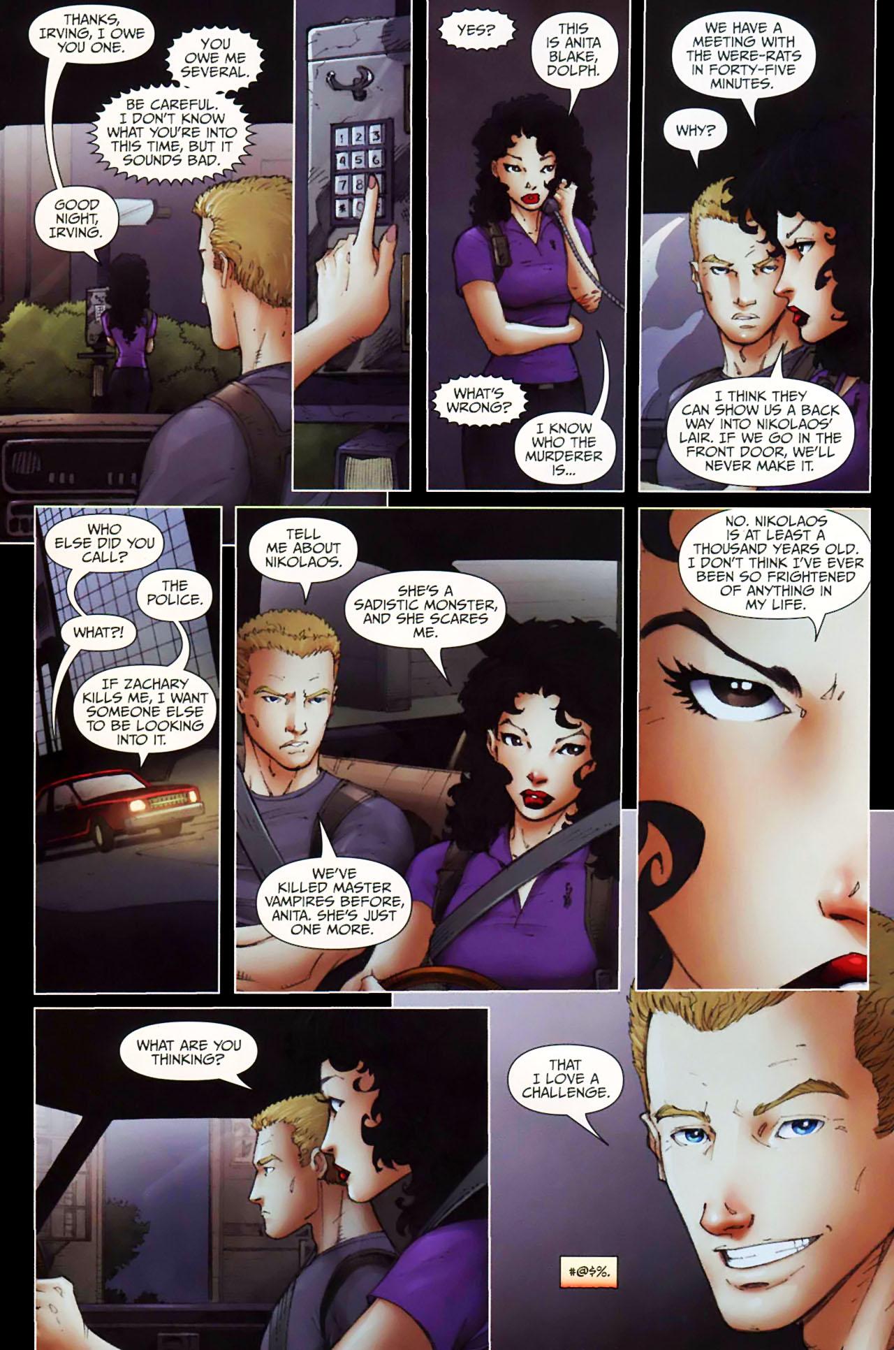 Read online Anita Blake, Vampire Hunter: Guilty Pleasures comic -  Issue #11 - 10