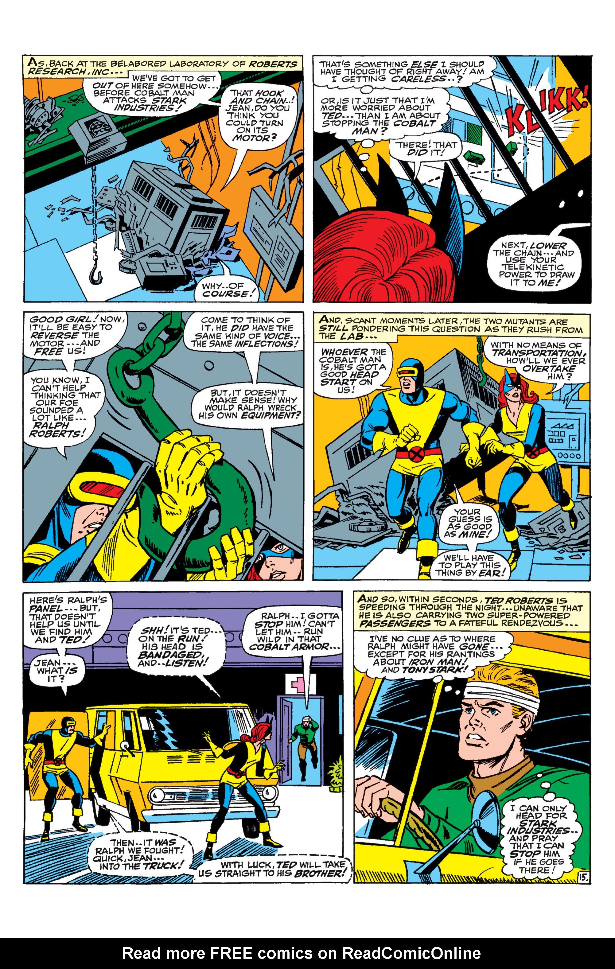 Read online Uncanny X-Men (1963) comic -  Issue #31 - 16