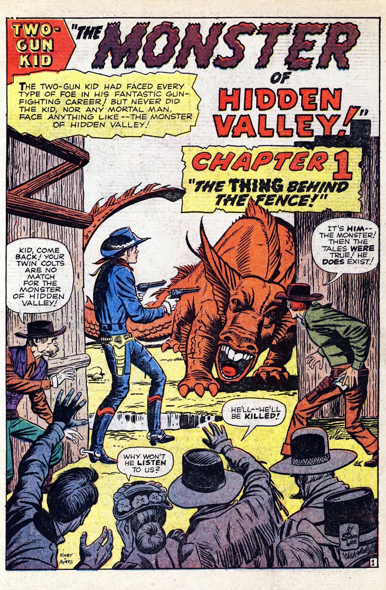 Read online Two-Gun Kid comic -  Issue #58 - 3