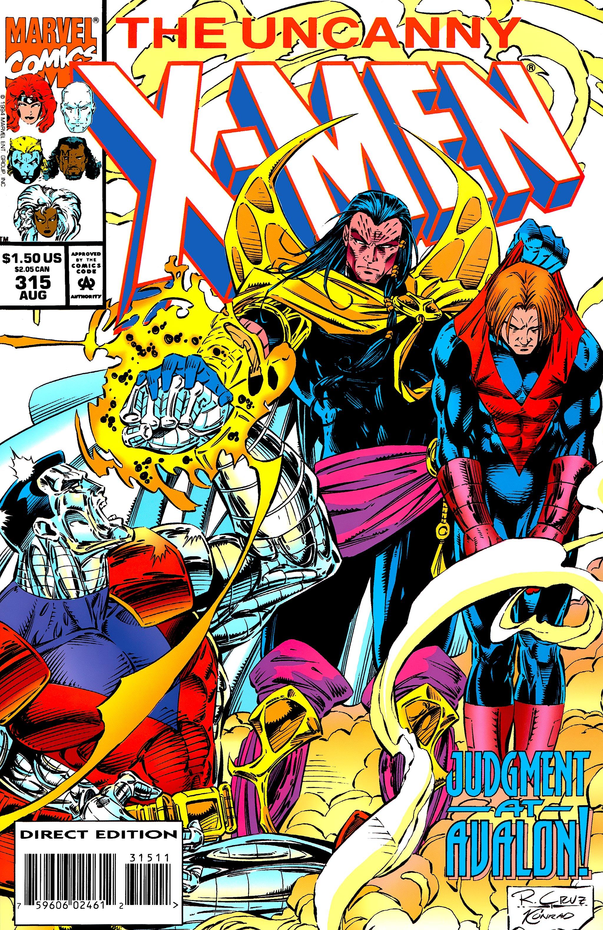 Read online Uncanny X-Men (1963) comic -  Issue #315 - 1