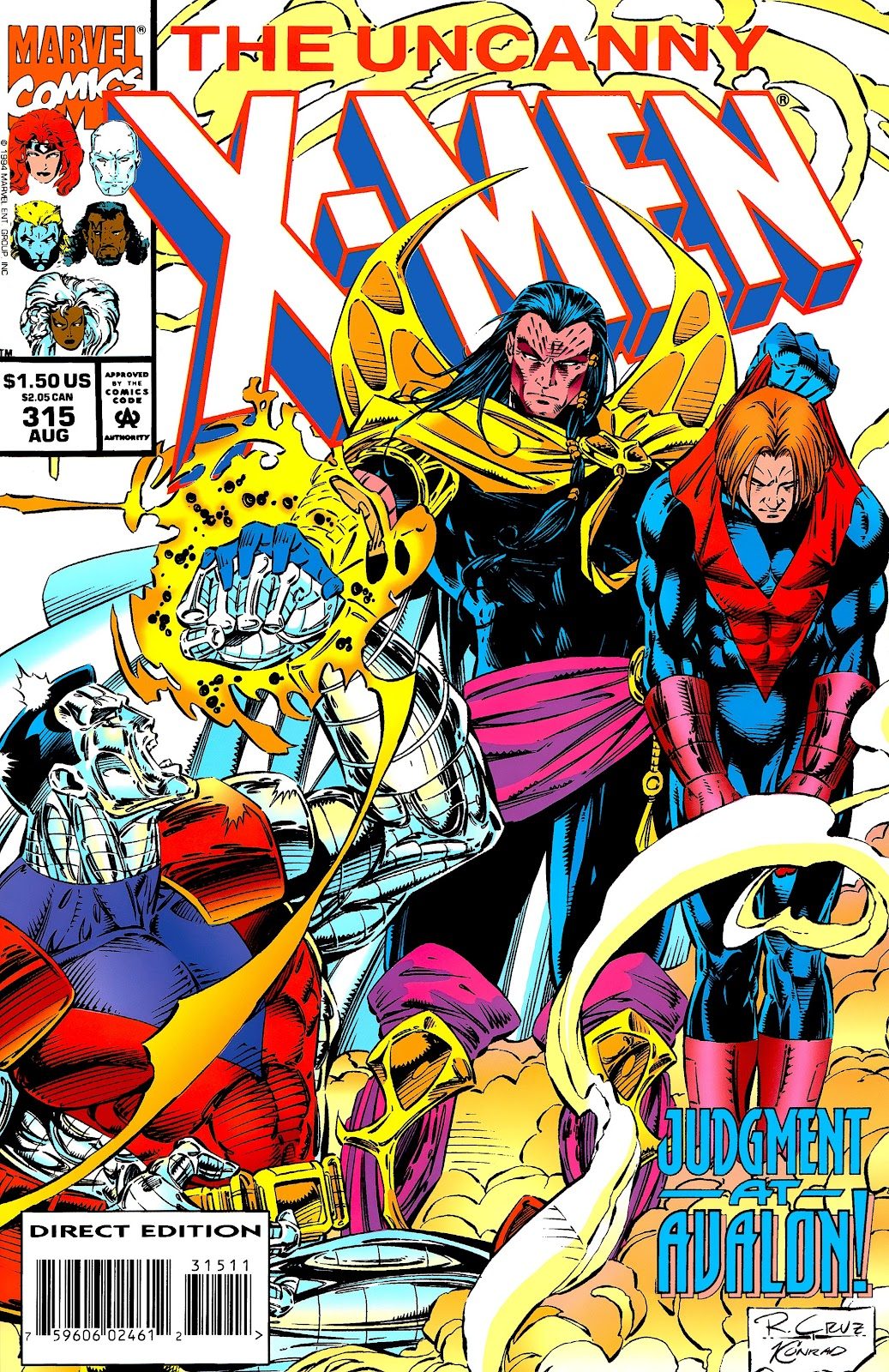 Uncanny X-Men (1963) issue 315 - Page 1