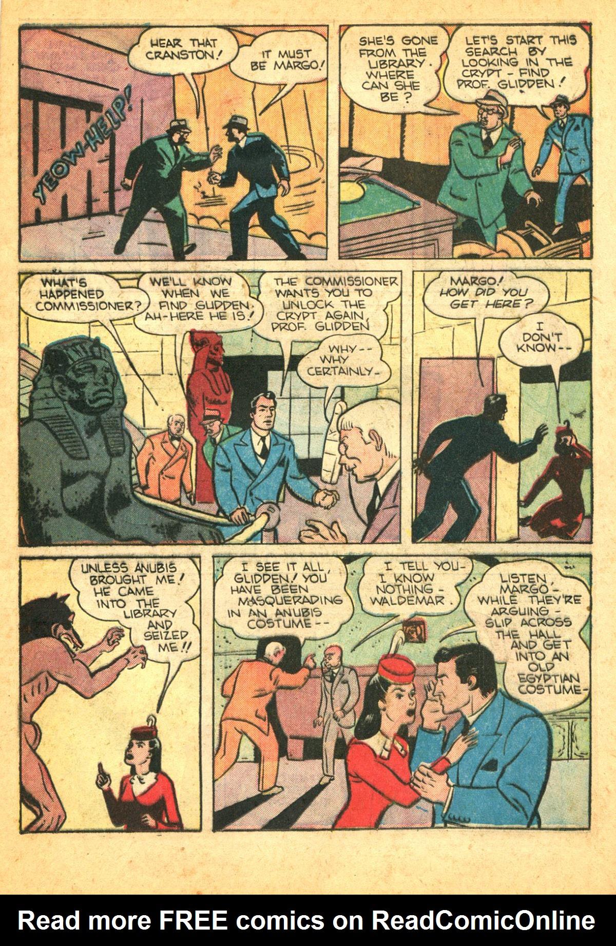 Read online Shadow Comics comic -  Issue #38 - 23