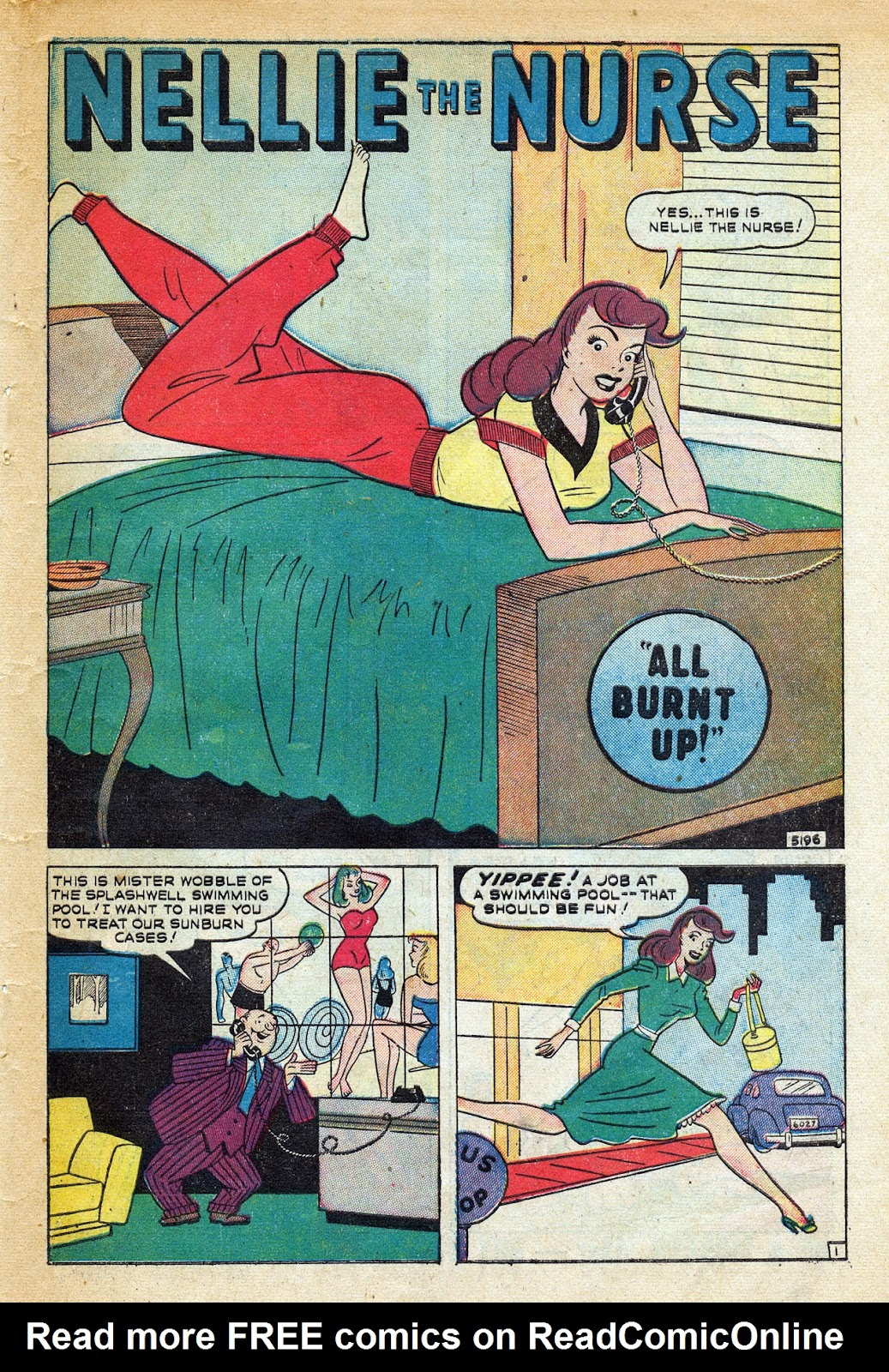 Read online Nellie The Nurse (1945) comic -  Issue #20 - 43