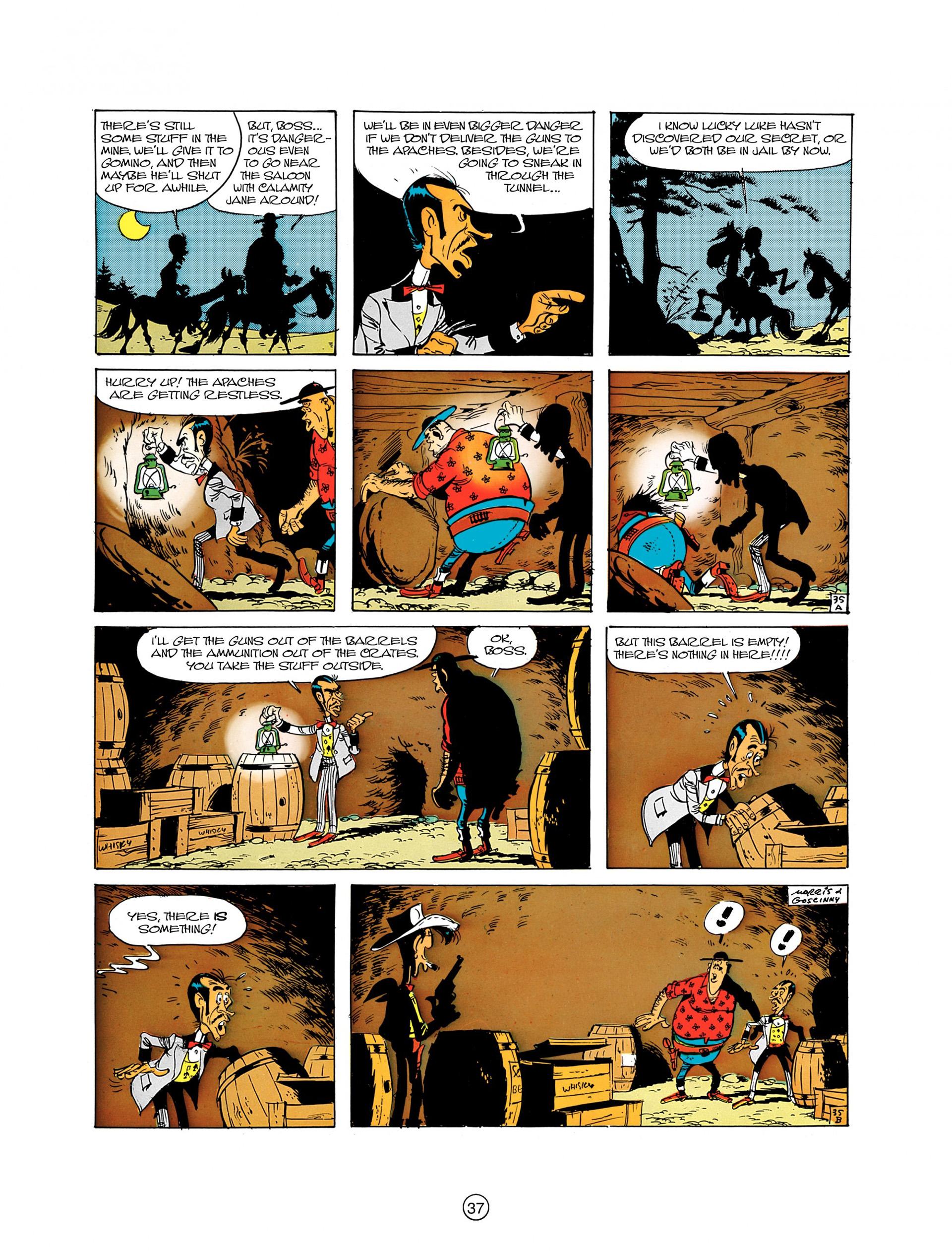 Read online A Lucky Luke Adventure comic -  Issue #8 - 37