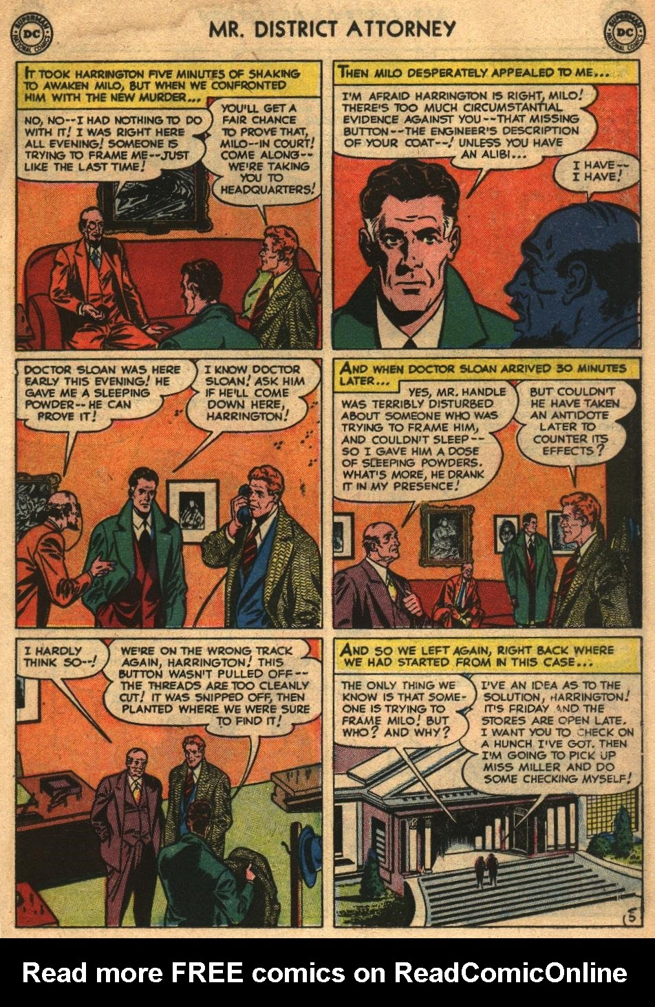 Mr. District Attorney issue 26 - Page 17