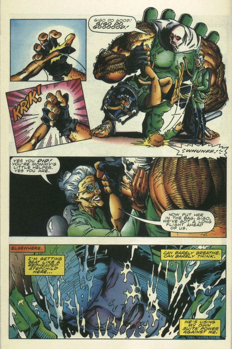 Read online Secret Weapons comic -  Issue #15 - 11