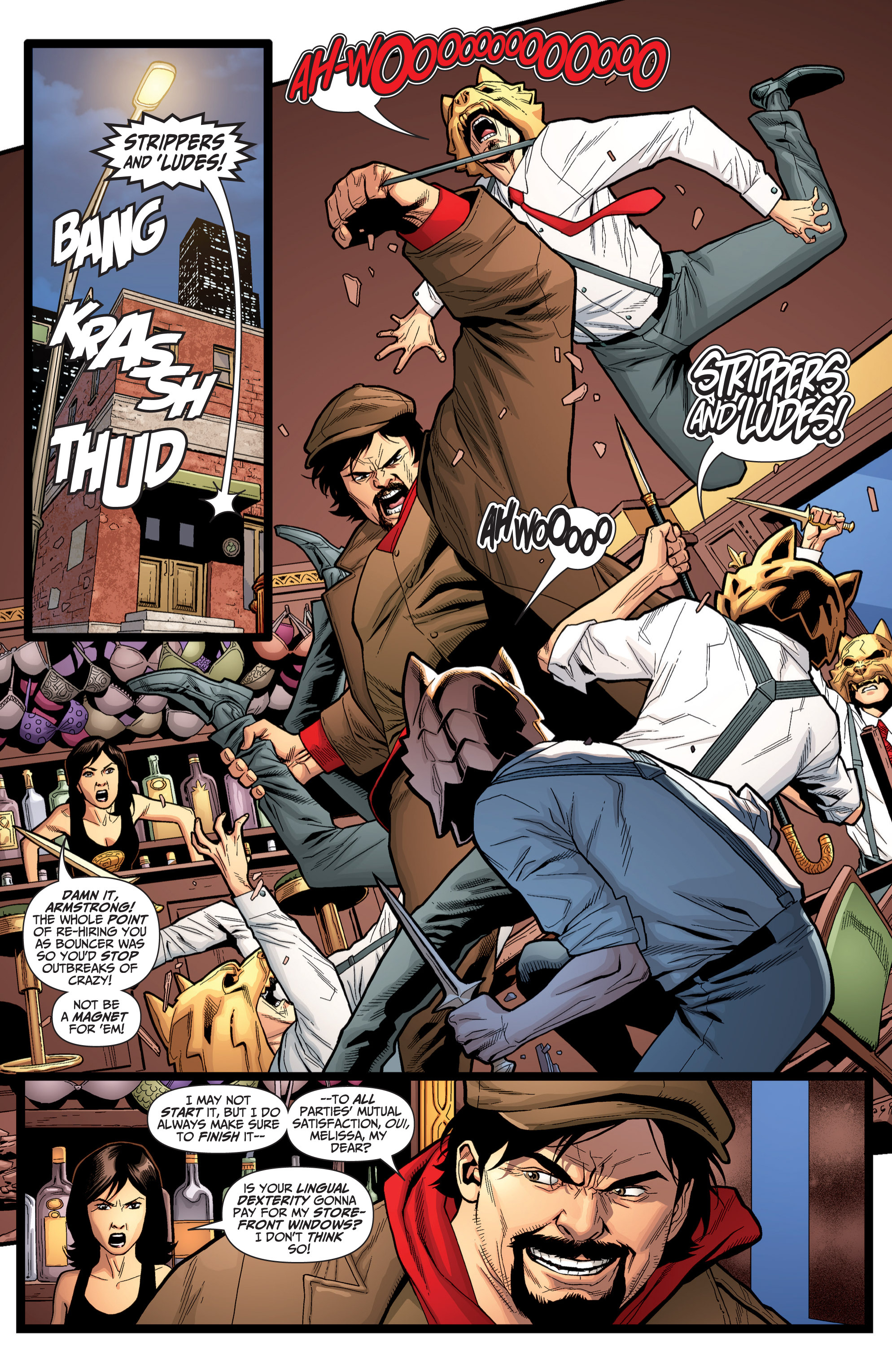 Read online Archer and Armstrong comic -  Issue #Archer and Armstrong _TPB 6 - 100
