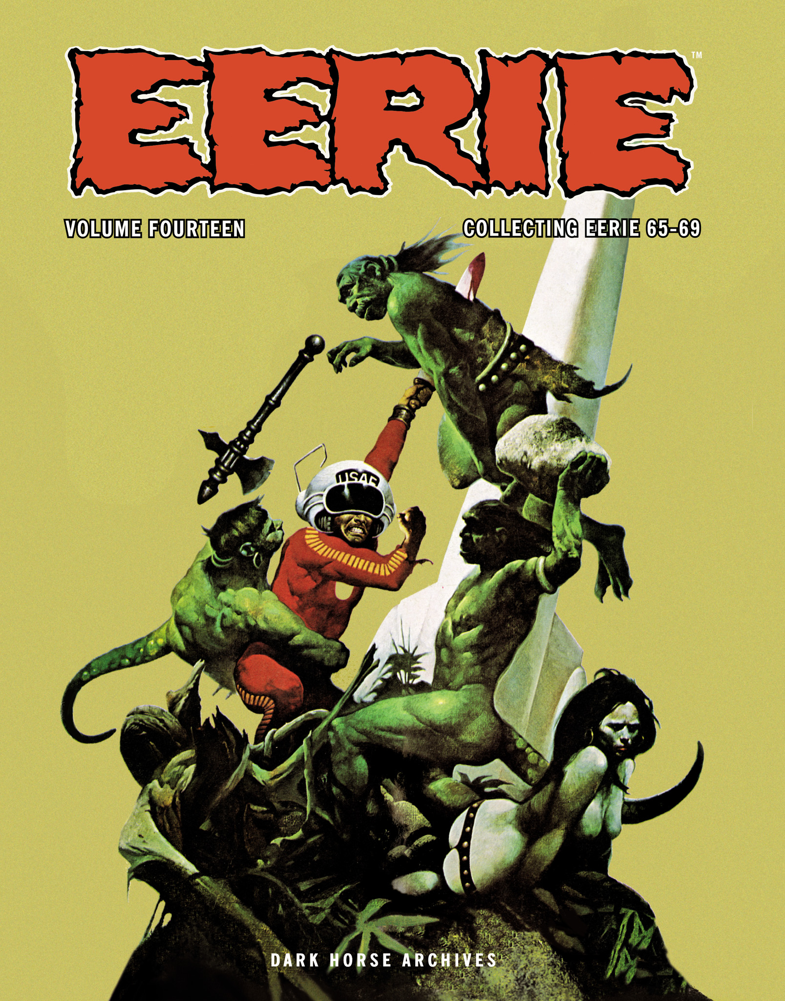 Read online Eerie Archives comic -  Issue # TPB 14 - 1