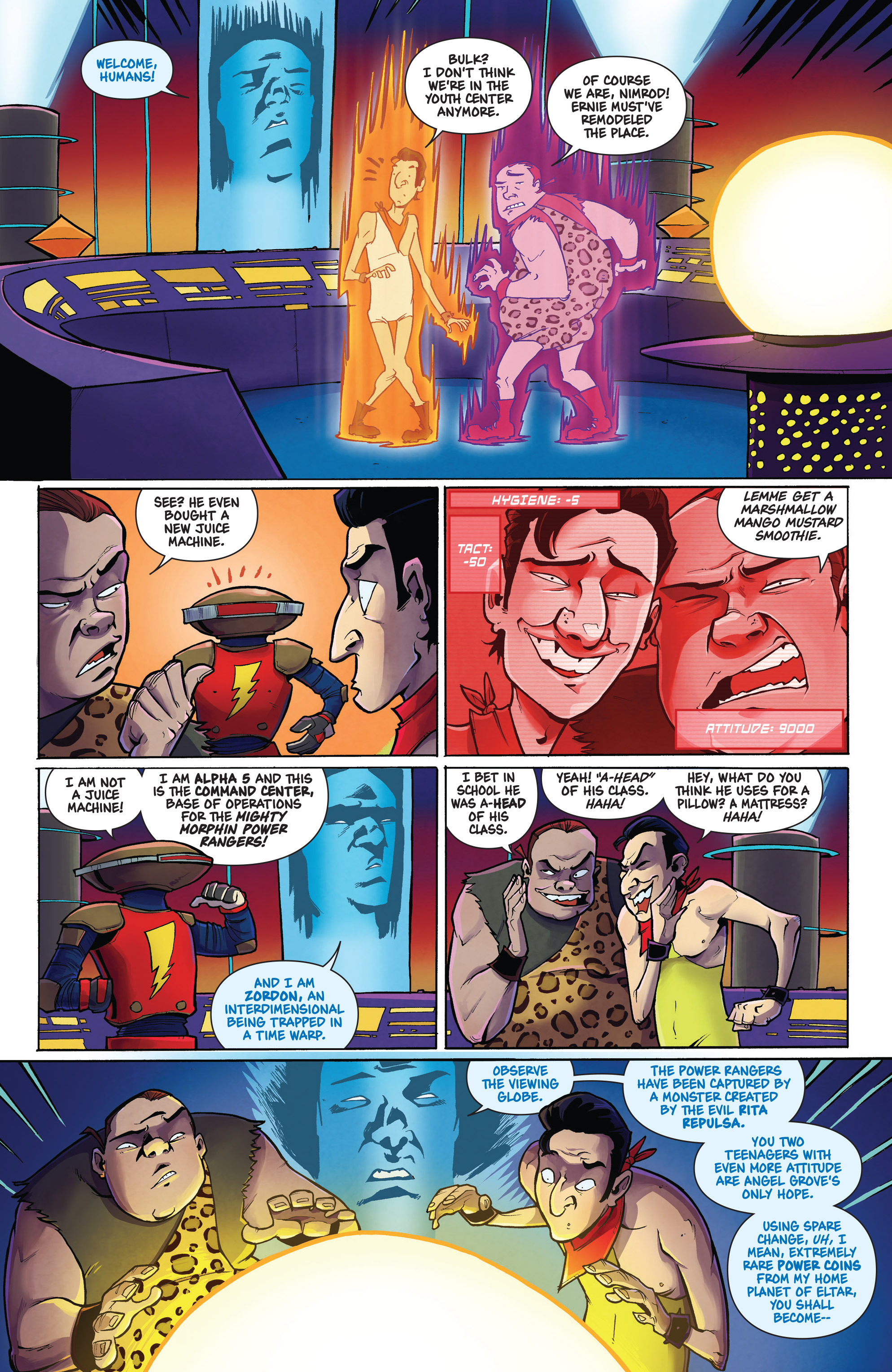 Read online Mighty Morphin Power Rangers comic -  Issue # _Annual 1 - 11