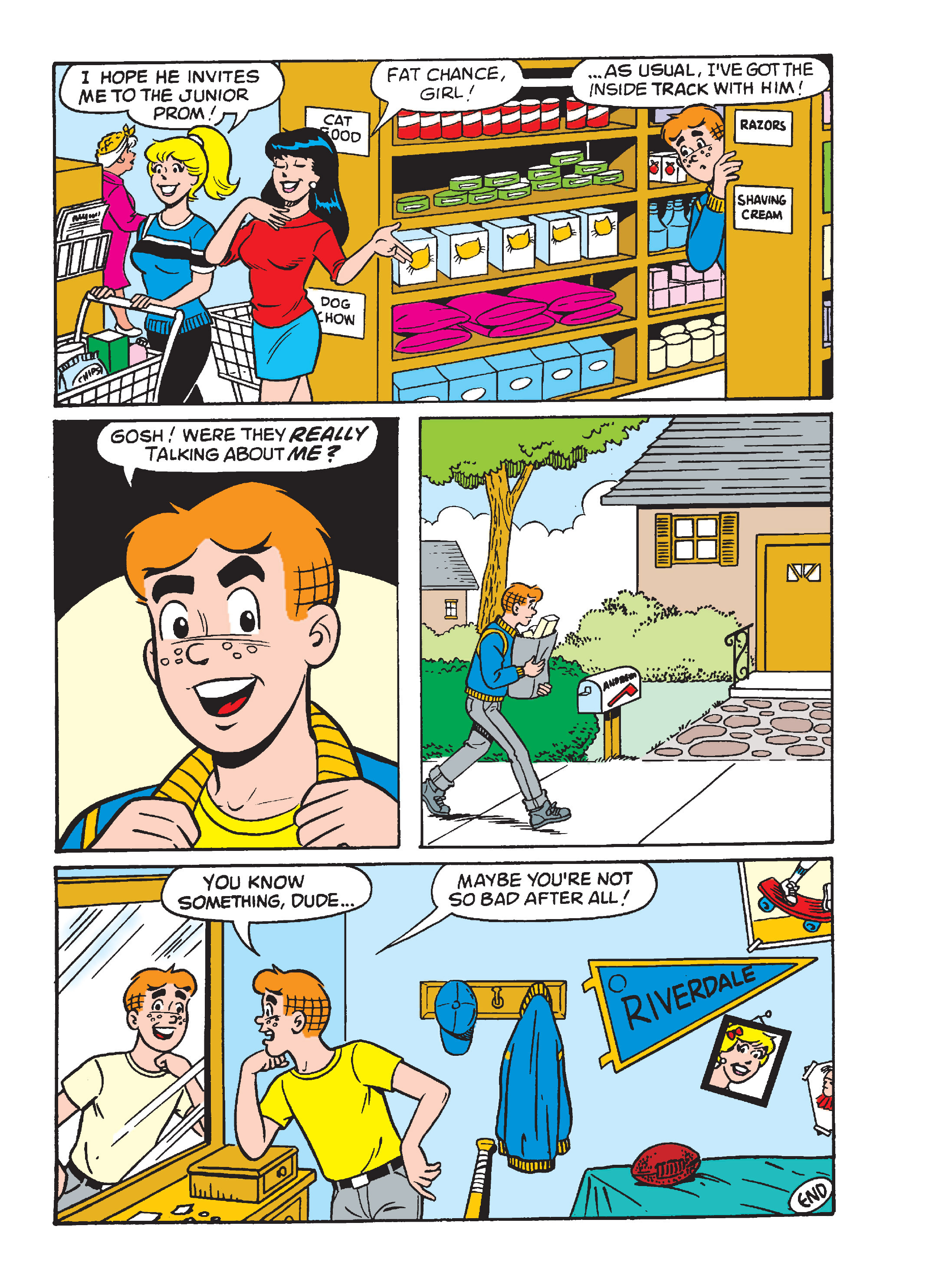 Read online Archie's Funhouse Double Digest comic -  Issue #15 - 183