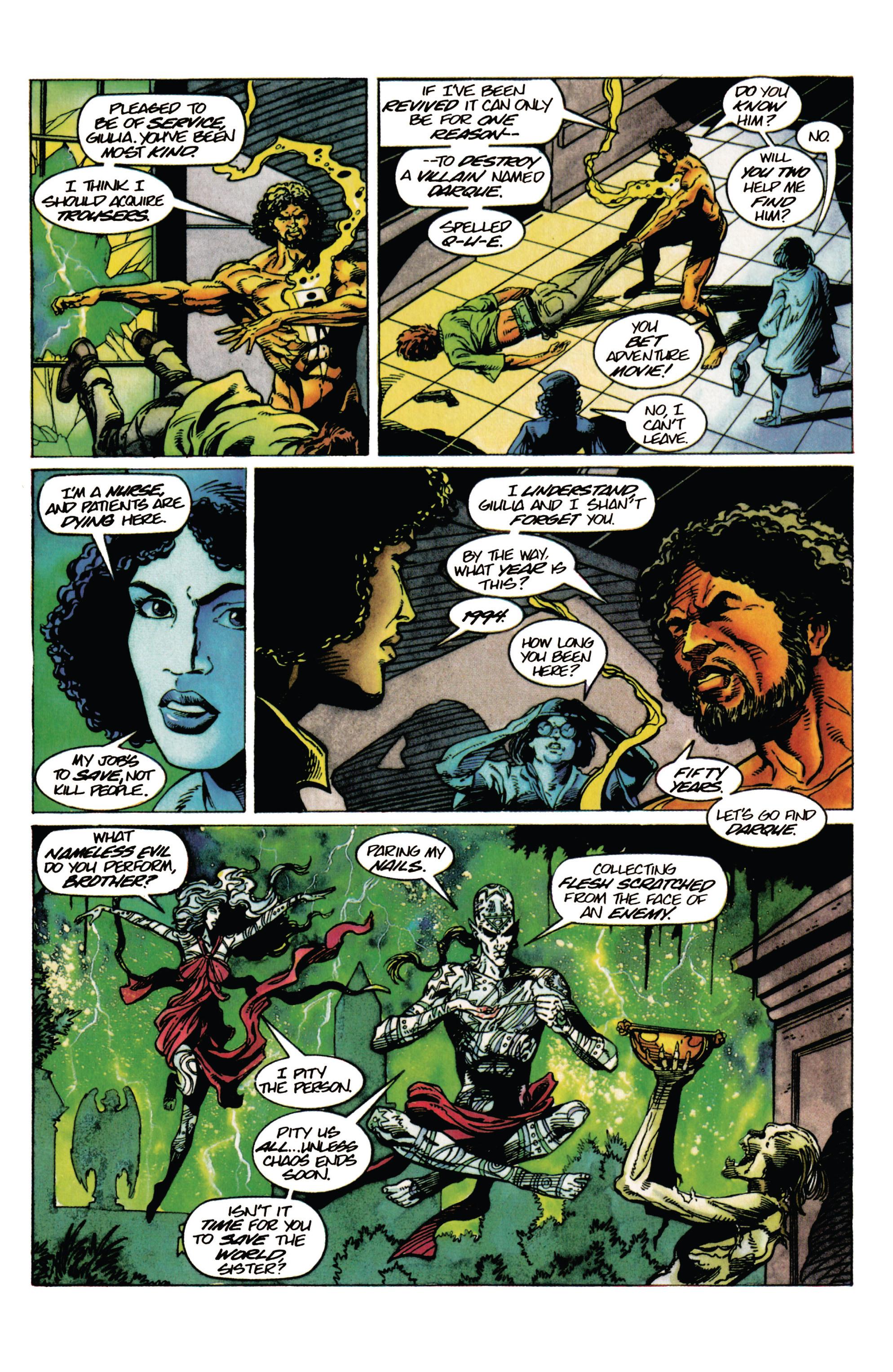 Read online Shadowman (1992) comic -  Issue #29 - 16