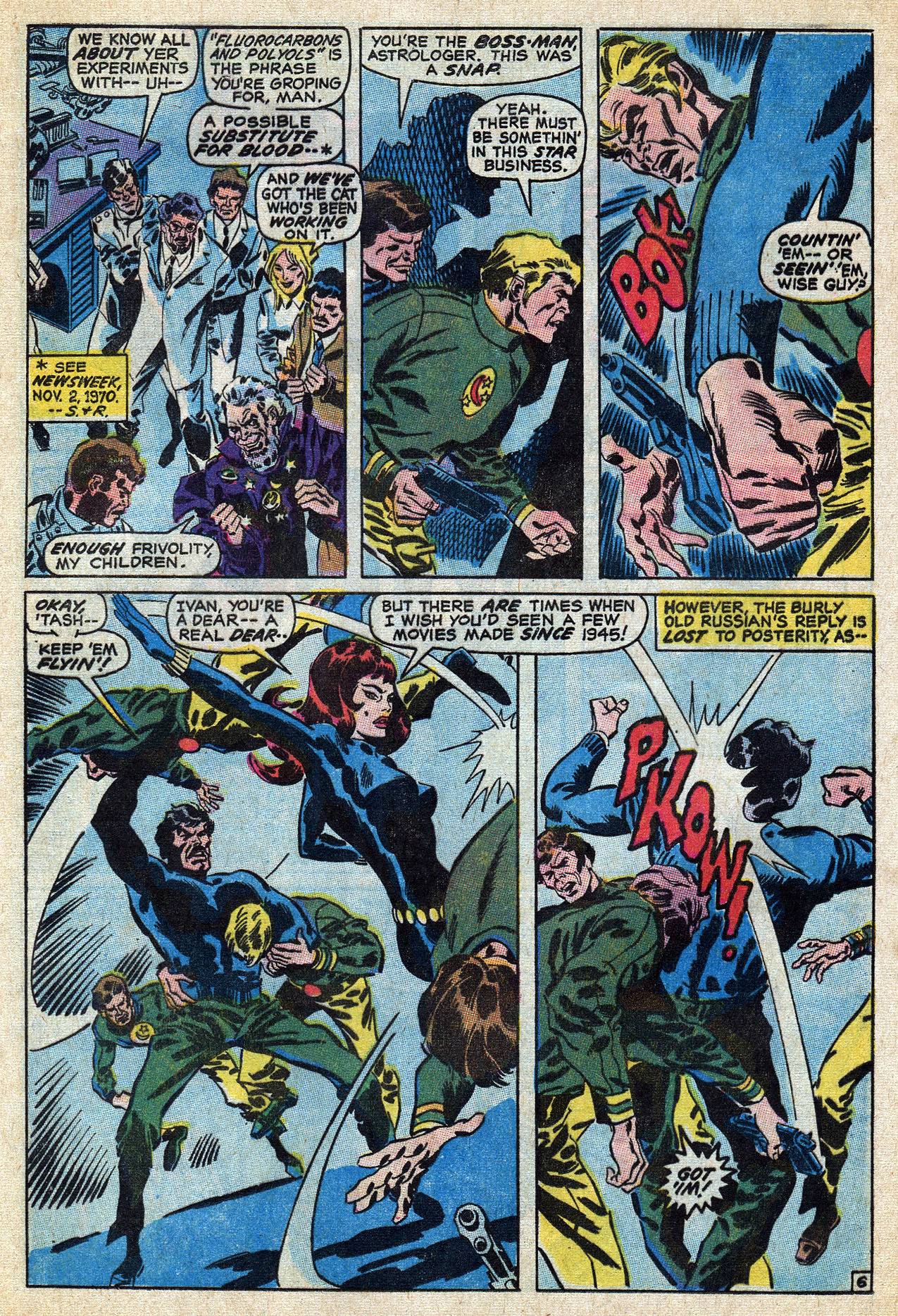 Read online Amazing Adventures (1970) comic -  Issue #6 - 24
