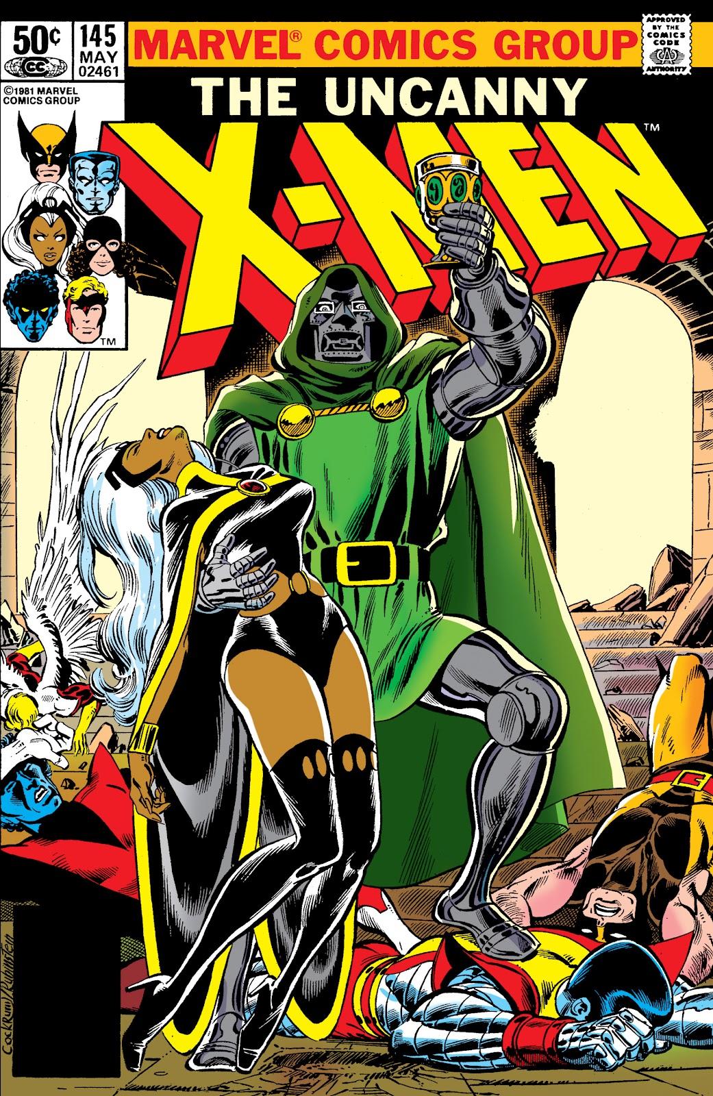 Uncanny X-Men (1963) 145 Page 1