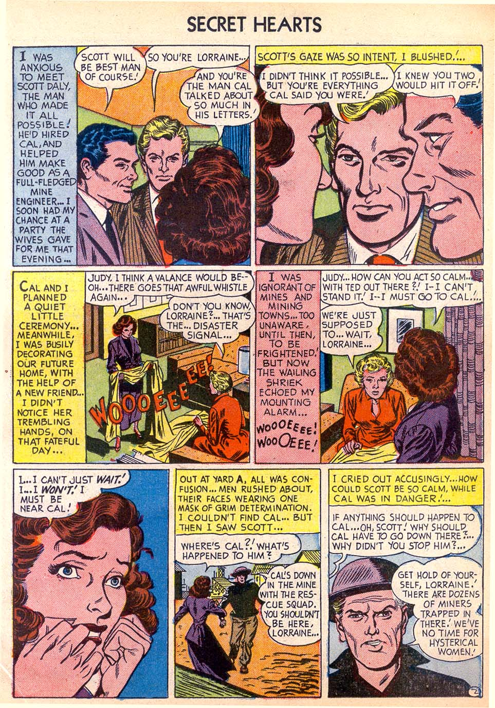 Read online Secret Hearts comic -  Issue #11 - 11