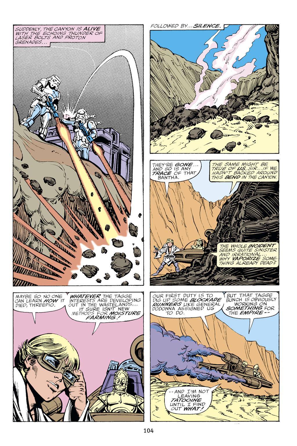Read online Star Wars Omnibus comic -  Issue # Vol. 14 - 104