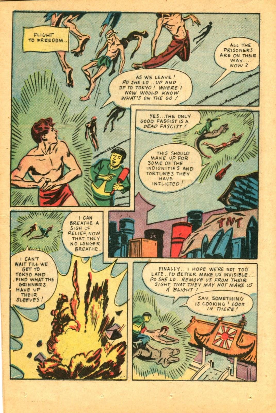 Read online Super-Magician Comics comic -  Issue #49 - 32