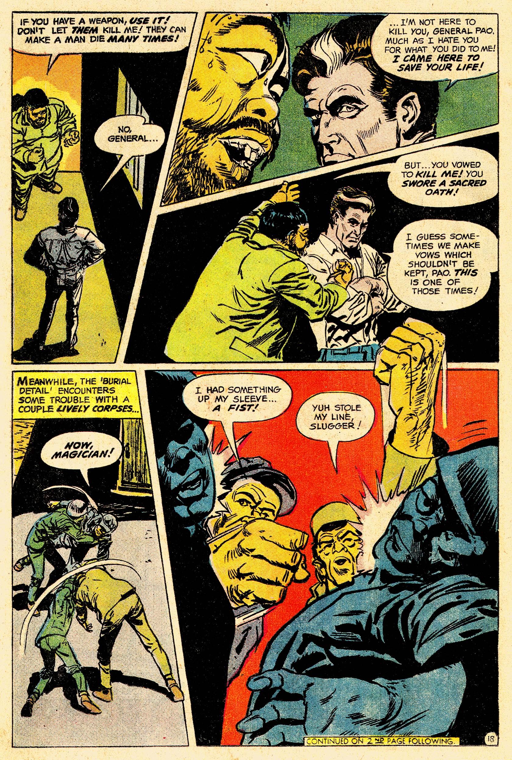 Read online Secret Six (1968) comic -  Issue #4 - 23