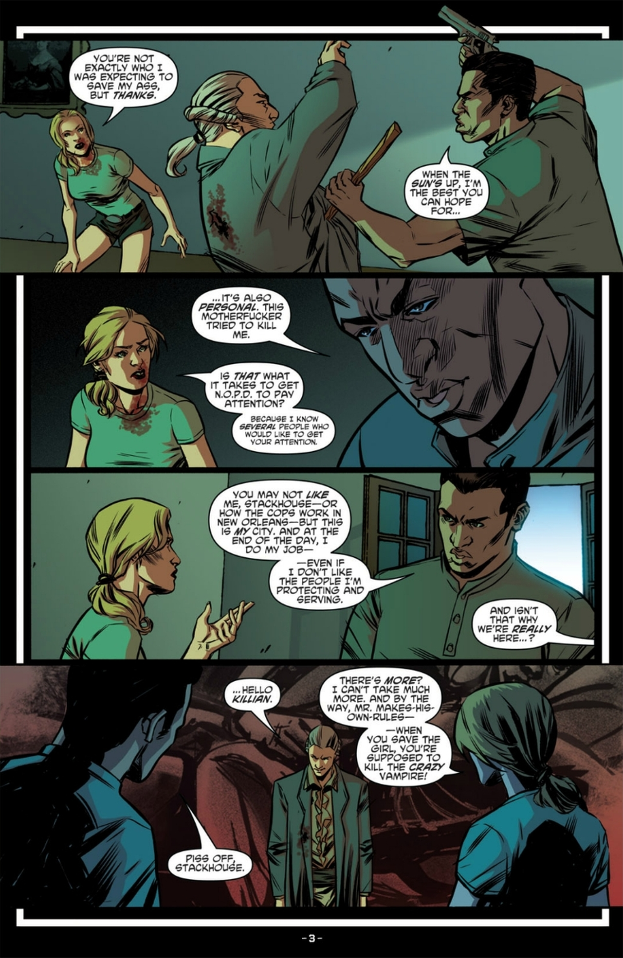 Read online True Blood: French Quarter comic -  Issue #6 - 8