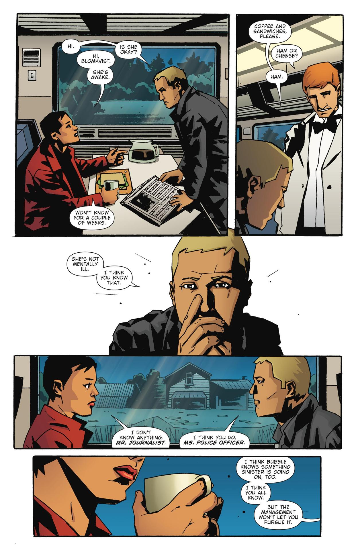 Read online The Girl Who Kicked The Hornet's Nest comic -  Issue # TPB - 41