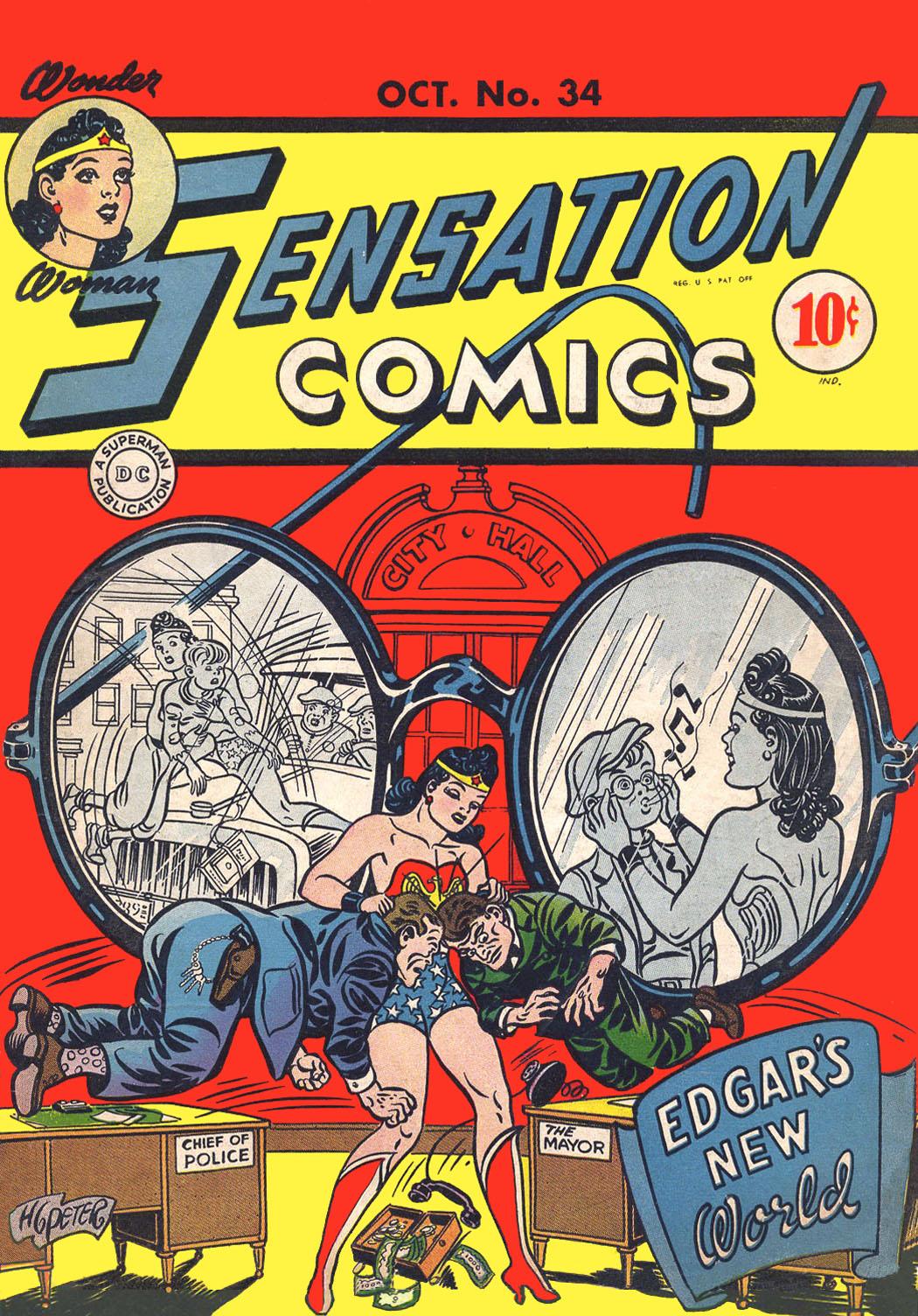 Sensation (Mystery) Comics 34 Page 1