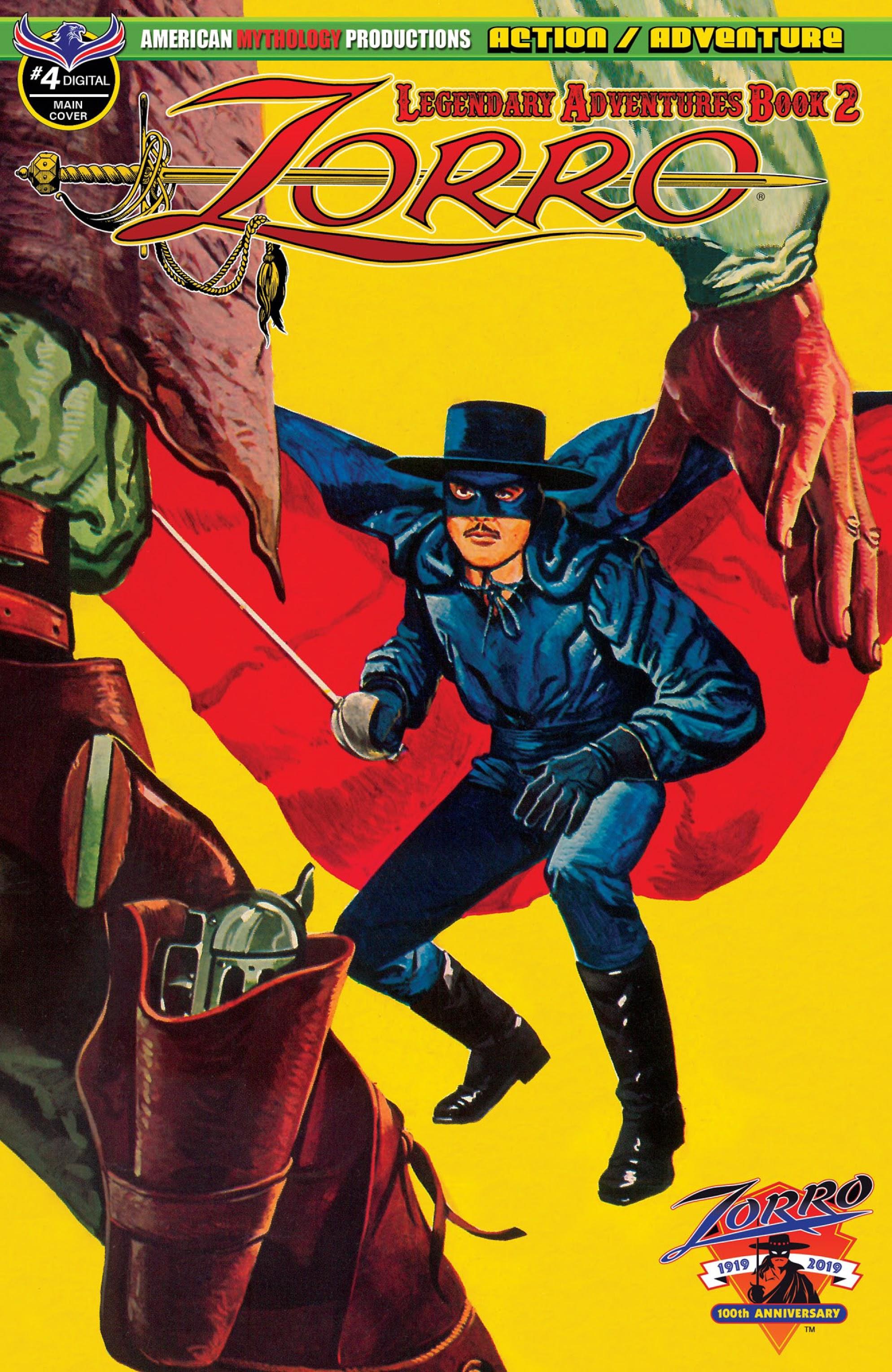 Zorro: Legendary Adventures (2019) 4 Page 1