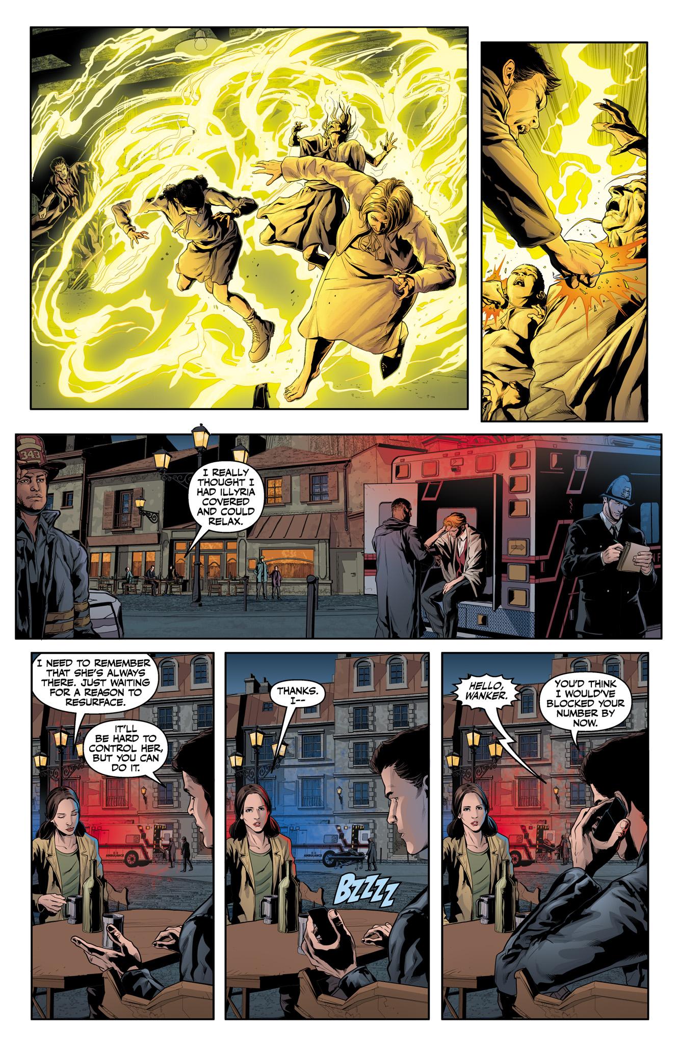 Read online Angel & Faith Season 10 comic -  Issue #15 - 22
