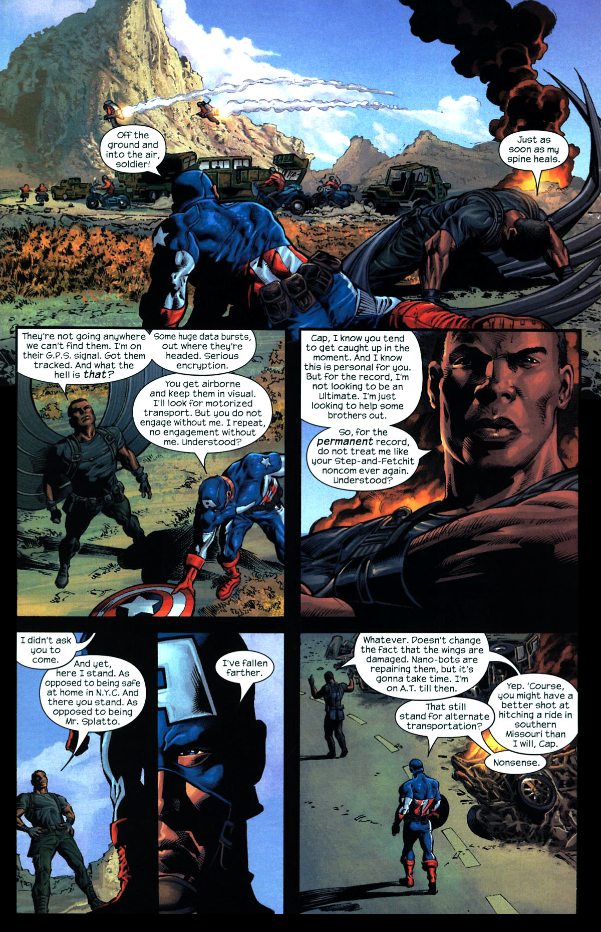 Read online Ultimates 2 comic -  Issue # _Annual 2 - 20