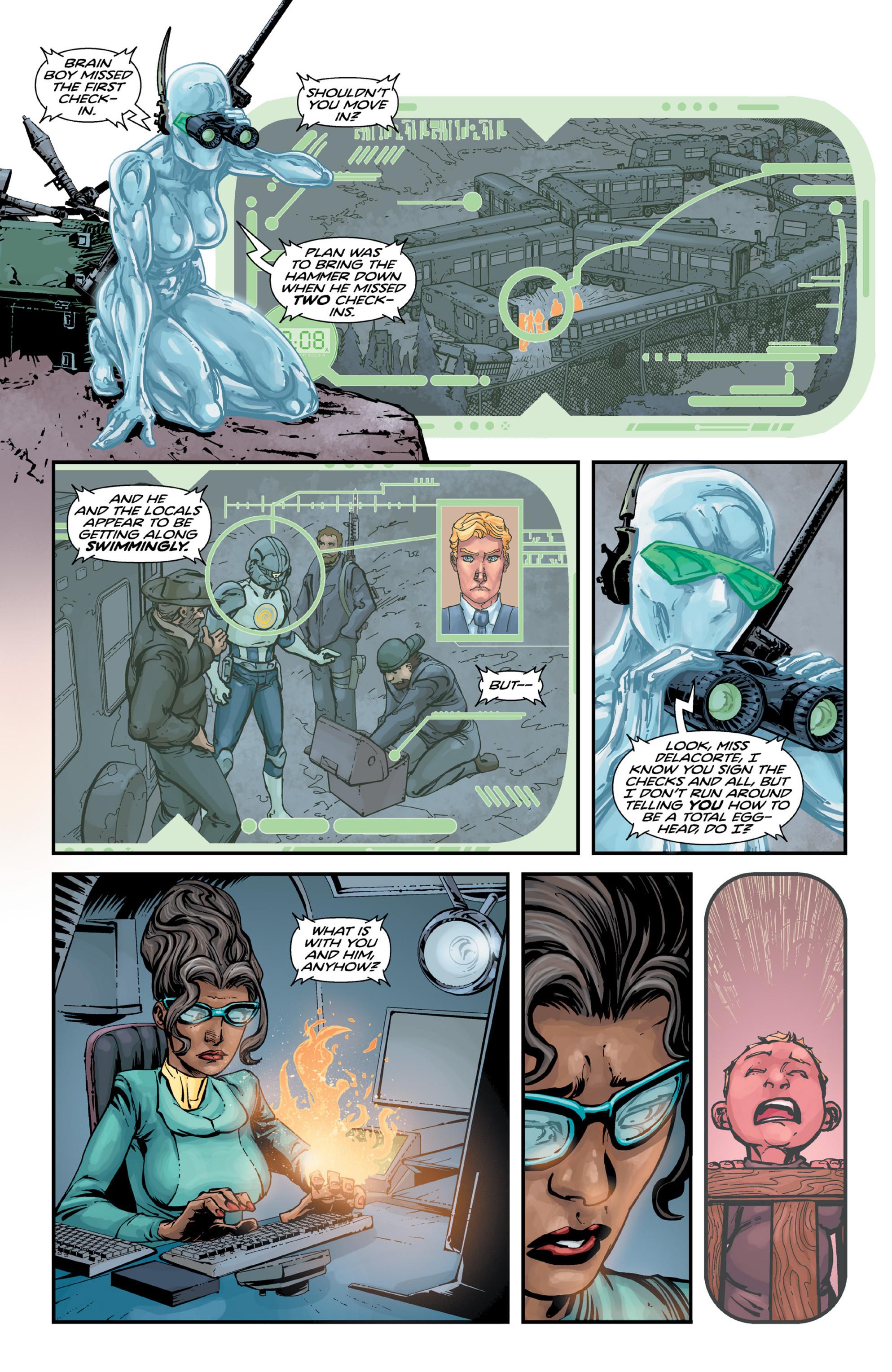 Read online Brain Boy:  The Men from G.E.S.T.A.L.T. comic -  Issue # TPB - 64