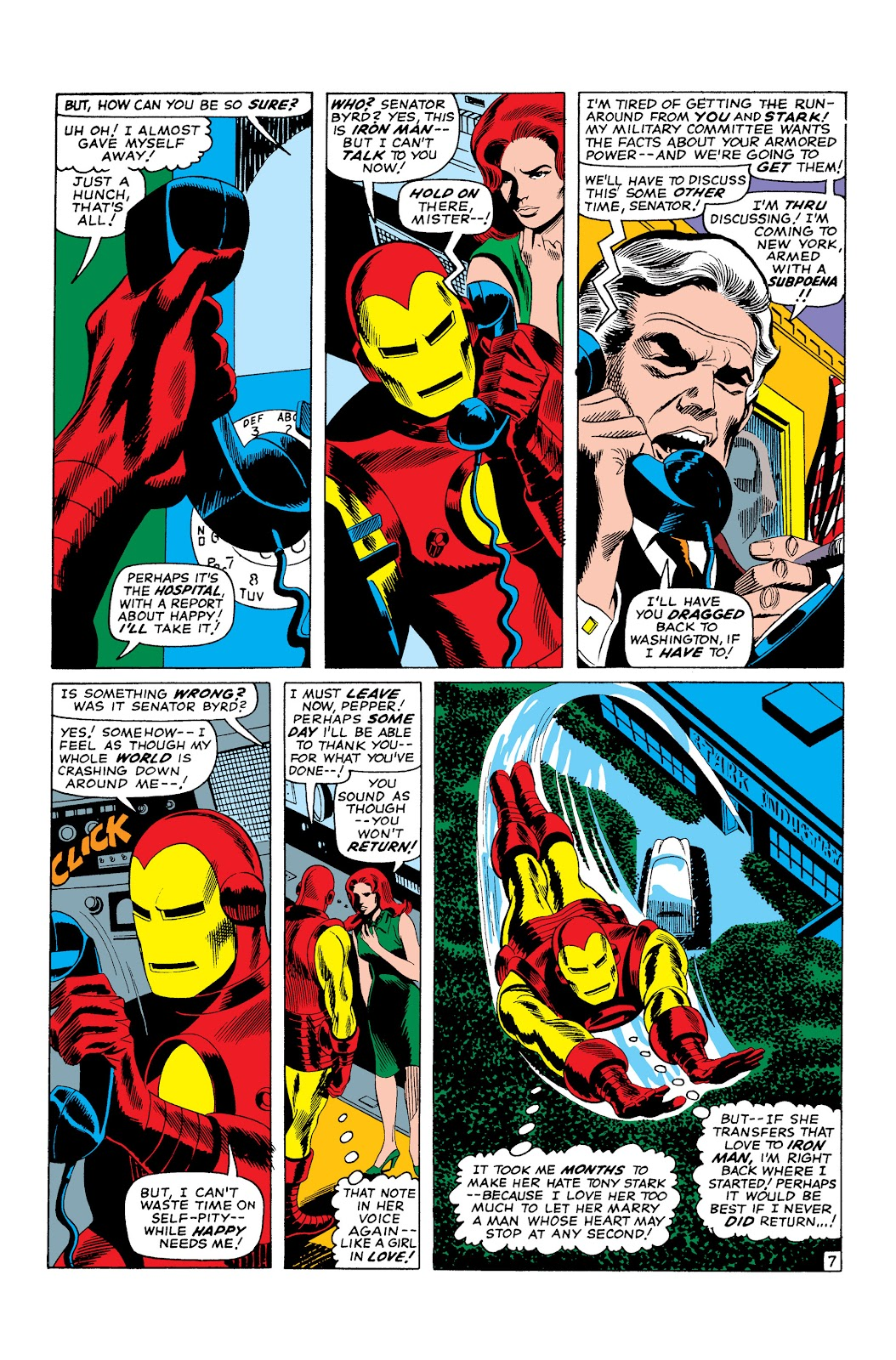Read online Marvel Masterworks: The Invincible Iron Man comic -  Issue # TPB 3 (Part 2) - 94