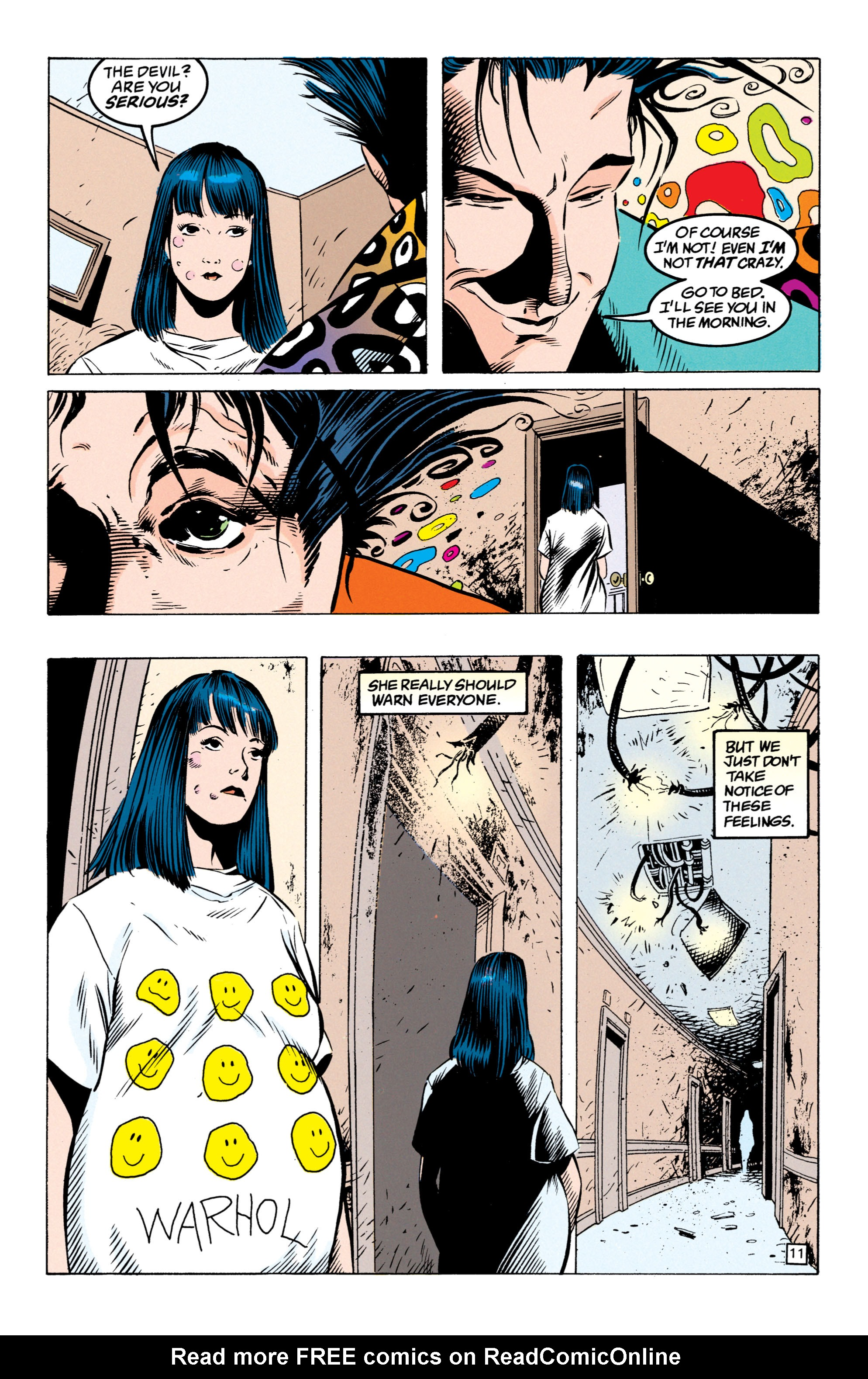 Read online Shade, the Changing Man comic -  Issue #49 - 12