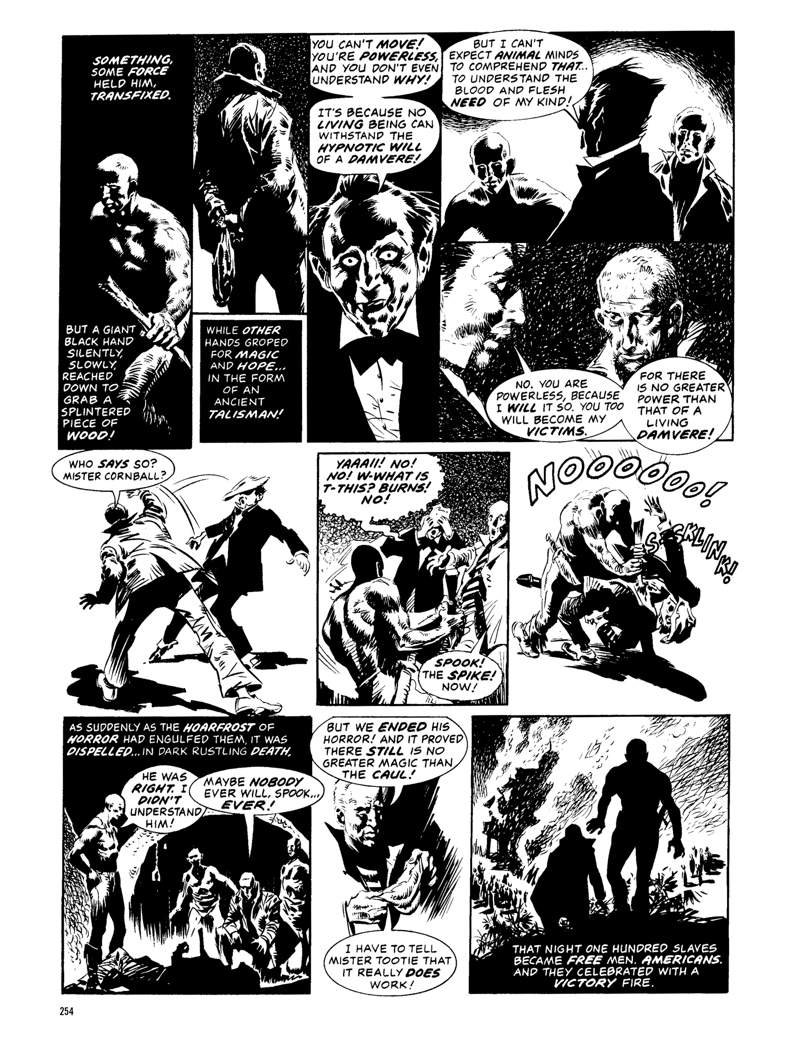 Read online Eerie Archives comic -  Issue # TPB 13 - 255