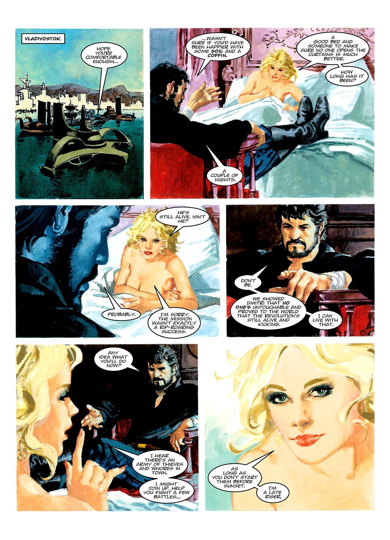 Read online Nikolai Dante comic -  Issue # TPB 10 - 182
