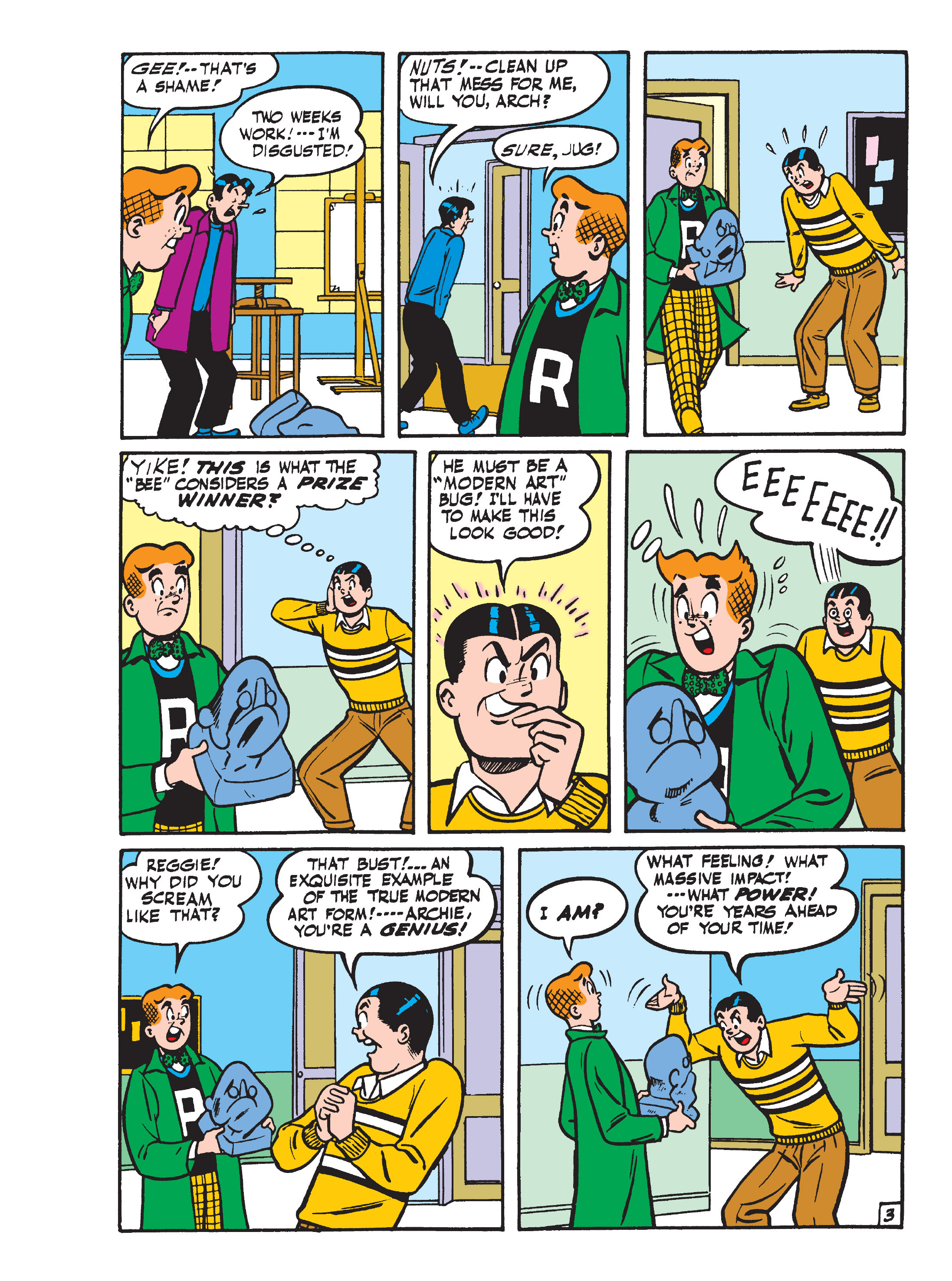 Read online World of Archie Double Digest comic -  Issue #55 - 136
